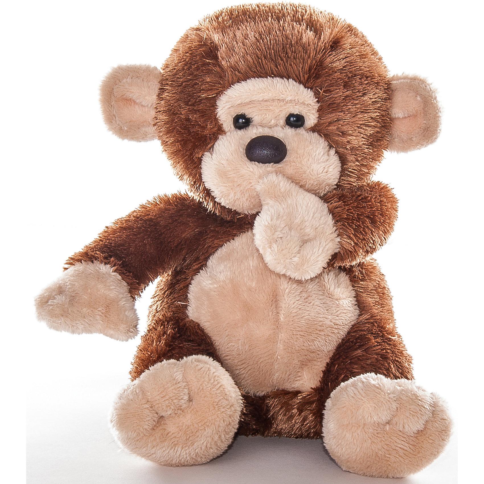 Мягкая игрушка Обезьянка, 20 см., AURORAОчаровательная мягкая обезьянка приведет в восторг любого малыша! Мягкая игрушка выполнена из высококачественных экологичных материалов абсолютно безопасна для детей. Она станет отличным новогодним подарком, ведь 2016 год будет годом «обезьяны». <br><br>Дополнительная информация:<br><br>- Материал: мех, пластик, синтепон.<br>- Размер: 20 см.<br><br>Мягкую игрушку Обезьянку, 20 см., AURORA (Аврора) можно купить в нашем магазине.<br><br>Ширина мм: 140<br>Глубина мм: 170<br>Высота мм: 140<br>Вес г: 136<br>Возраст от месяцев: 36<br>Возраст до месяцев: 192<br>Пол: Унисекс<br>Возраст: Детский<br>SKU: 4251465