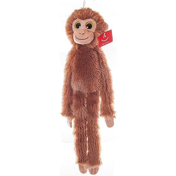 Мягкая игрушка Шимпанзе коричневый, 50 см., AURORAМягкие игрушки животные<br>Очаровательная обезьянка с веселой мордочкой и мягкой шёрсткой обязательно понравится малышам. Игрушка сшита из высококачественного гипоаллергенного плюша и безопасна даже для маленьких детей. Она станет отличным новогодним подарком, ведь 2016 год будет годом «обезьяны». <br><br>Дополнительная информация:<br><br>- Материал: мех, пластик, синтепон.<br>- Размер: 50 см.<br><br>Мягкую игрушку Шимпанзе оранжевого 50 см., AURORA (Аврора) можно купить в нашем магазине.<br>Ширина мм: 100; Глубина мм: 300; Высота мм: 100; Вес г: 148; Возраст от месяцев: 36; Возраст до месяцев: 192; Пол: Унисекс; Возраст: Детский; SKU: 4251471;