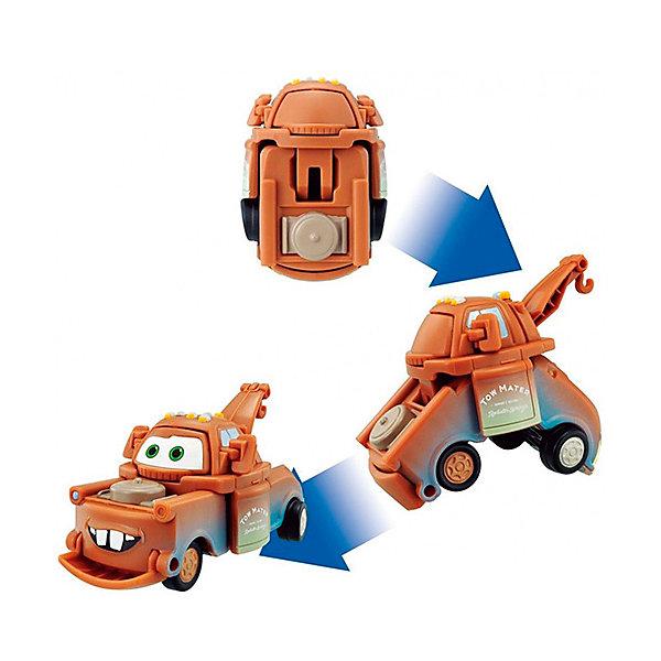 Яйцо-трансформер Мэтр, Тачки, EggStarsФигурки из мультфильмов<br>Характеристики:<br><br>• тип игрушки: трансформер;<br>• возраст: от 4 лет;<br>• размер: 8х6х17 см;<br>• комплектация: 1 яйцо-трансформер;<br>• материал: пластик;<br>• упаковка: блистер;<br>• бренд: Bandai;<br>• страна производства: Китай.<br><br>Яйцо-трансформер «Мэтр» Тачки, EggStars - игрушка-трансформер, выполненная в виде яйца, которое превращается в одного из популярных героев мультфильма. Всего несколько движений, и пластиковое яйцо превратится в машинку.<br><br>Мэтр - лучший друг Молнии Маккуина из мультфильма «Тачки-2». Мэтр - коренной житель Радиатор-Спрингс, автомобильный эвакуатор, модели International Harvester 1956-1958 года выпуска. Он очень любит свою работу и всегда готов прийти на помощь! Мэтр веселый и добродушный, снискал славу непревзойденного рассказчика и даже был секретным агентом, заслужив благодарность самой королевы.<br><br>Яйцо-трансформер «Мэтр» Тачки, EggStars можно купить в нашем интернет-магазине.<br>Ширина мм: 80; Глубина мм: 170; Высота мм: 60; Вес г: 73; Возраст от месяцев: 36; Возраст до месяцев: 168; Пол: Мужской; Возраст: Детский; SKU: 4251480;
