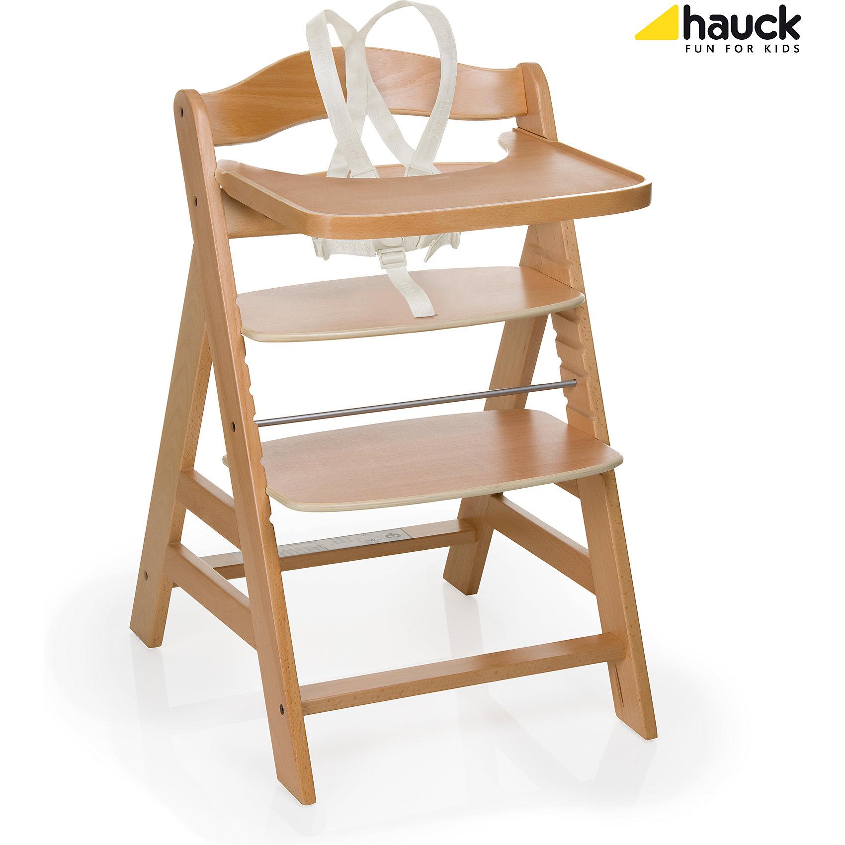 Стульчик для кормления GAMMA+B, Hauck, natural