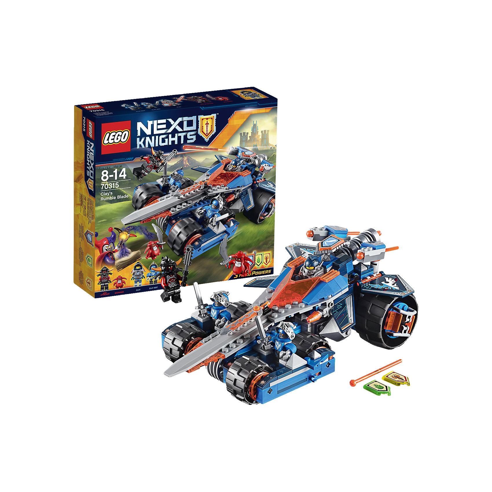 LEGO NEXO KNIGHTS 70315: Устрашающий разрушитель Клэя