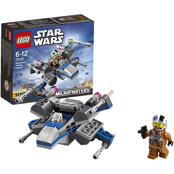 LEGO Star Wars 75125: Истребитель ПовстанцевИгрушки<br>LEGO Star Wars (ЛЕГО Звездные войны) 75125: Истребитель Повстанцев станет прекрасным подарком для всех поклонников знаменитой киносаги. Новый истребитель из серии микрофайтеров Lego Star Wars прекрасно детализирован и очень похож на знаменитый корабль повстанцев X-Wing. Спереди на носу корабля размещается кабина пилота с сиденьем. Складные крылья оснащены мощными орудиями и пусковыми установками, которые выстреливают снарядами-ракетками. В комплект входит одна минифурка пилота в шлеме, вооруженного бластером. <br><br>Все конструкторы серии ЛЕГО Звездные войны созданы по мотивам знаменитой киносаги Звездные войны и воспроизводят самые популярные сюжеты и эпизоды фильма. В наборах представлены все основные средства вооружения и боевые единицы, задействованные в фильме.<br>Фантастические истребители, машины, роботы, оружие, фигурки персонажей выполнены очень реалистично, с высокой степенью детализации.<br><br>Дополнительная информация:<br><br>- Игра с конструктором LEGO (ЛЕГО) развивает мелкую моторику ребенка, фантазию и воображение, учит его усидчивости и внимательности.<br>- Количество деталей: 87.<br>- Количество минифигур: 1.<br>- Серия: LEGO Star Wars (ЛЕГО Звездные войны).<br>- Материал: пластик.<br>- Размер модели: 5 х 8 х 9 см.<br>- Размер упаковки: 14,1 х 4,6 х 12,2 см.<br>- Вес: 0,1 кг.<br><br>Конструктор LEGO Star Wars (ЛЕГО Звездные войны) 75125: Истребитель Повстанцев можно купить в нашем интернет-магазине.<br><br>Ширина мм: 142<br>Глубина мм: 124<br>Высота мм: 48<br>Вес г: 90<br>Возраст от месяцев: 72<br>Возраст до месяцев: 144<br>Пол: Мужской<br>Возраст: Детский<br>SKU: 4259010