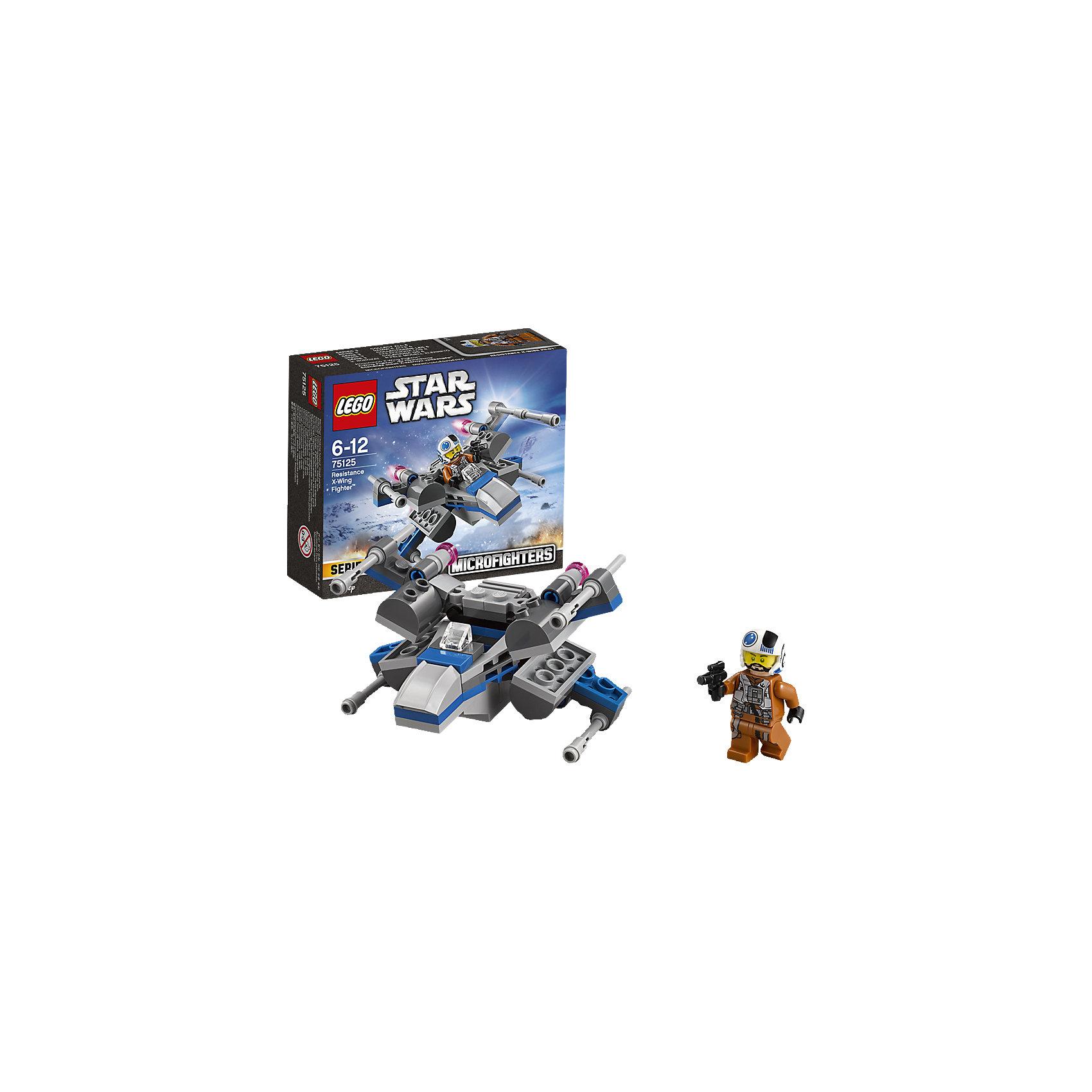 lego lego star wars 75150 лего звездные войны усовершенствованный истребитель сид дарта вейдера LEGO LEGO Star Wars 75125: Истребитель Повстанцев