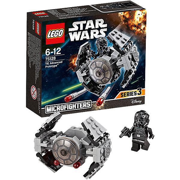 LEGO Star Wars 75128: Усовершенствованный прототип истребителя TIE™Конструкторы Лего<br>LEGO Star Wars (ЛЕГО Звездные войны) 75128: Усовершенствованный прототип истребителя TIE станет прекрасным подарком для всех поклонников знаменитой киносаги. Останови повстанцев с помощью усовершенствованного прототипа истребителя TIE, разверни крылья и заряди ракеты! Посади пилота в кабину и приготовься к захватывающему путешествию по галактике. Модель ЛЕГО прекрасно детализирована, состоит из серых и черных деталей. Спереди на носу корабля прозрачное стекло, две пушки выстреливают ракетками при щелчке. Крылья истребителя могут менять форму, раскрываясь и складываясь. Внутрь корабля можно посадить входящую в комплект минифурку пилота.<br><br>Все конструкторы серии ЛЕГО Звездные войны созданы по мотивам знаменитой киносаги Звездные войны и воспроизводят самые популярные сюжеты и эпизоды фильма. В наборах представлены все основные средства вооружения и боевые единицы, задействованные в фильме.<br>Фантастические истребители, машины, роботы, оружие, фигурки персонажей выполнены очень реалистично, с высокой степенью детализации.<br><br>Дополнительная информация:<br><br>- Игра с конструктором LEGO (ЛЕГО) развивает мелкую моторику ребенка, фантазию и воображение, учит его усидчивости и внимательности.<br>- Количество деталей: 93.<br>- Количество минифигур: 1.<br>- Серия: LEGO Star Wars (ЛЕГО Звездные войны).<br>- Материал: пластик.<br>- Размеры модели при поднятых крыльях: 7 х 5 х 8 см.<br>- Размер упаковки: 14,5 х 5 х 12,5 см.<br>- Вес: 0,115 кг.<br><br>Конструктор LEGO Star Wars (ЛЕГО Звездные войны) 75128: Усовершенствованный прототип истребителя TIE можно купить в нашем интернет-магазине.<br><br>Ширина мм: 123<br>Глубина мм: 142<br>Высота мм: 45<br>Вес г: 101<br>Возраст от месяцев: 72<br>Возраст до месяцев: 144<br>Пол: Мужской<br>Возраст: Детский<br>SKU: 4259013