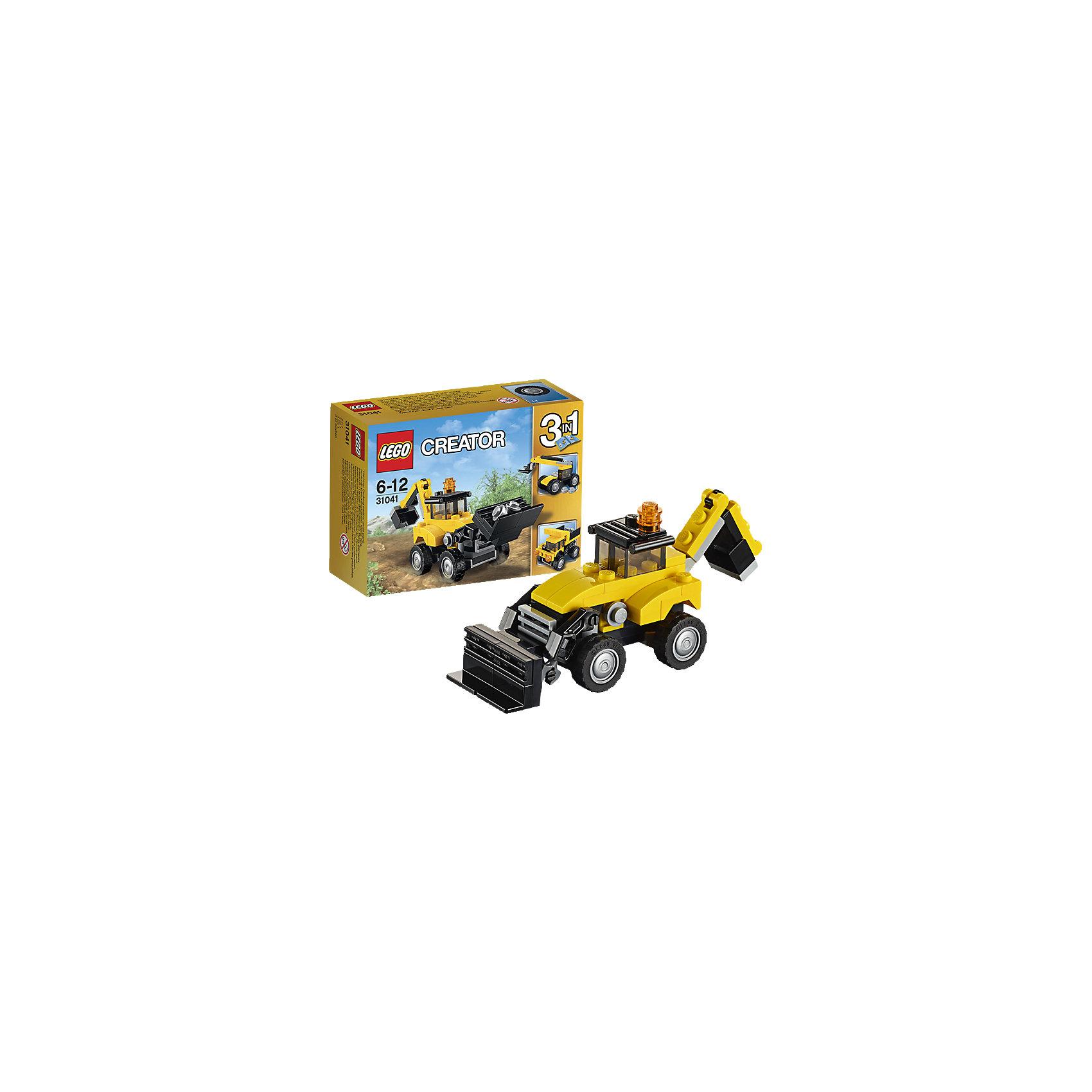 LEGO LEGO Creator 31041: Строительная техника lego creator 31042 лего криэйтор реактивный самолет