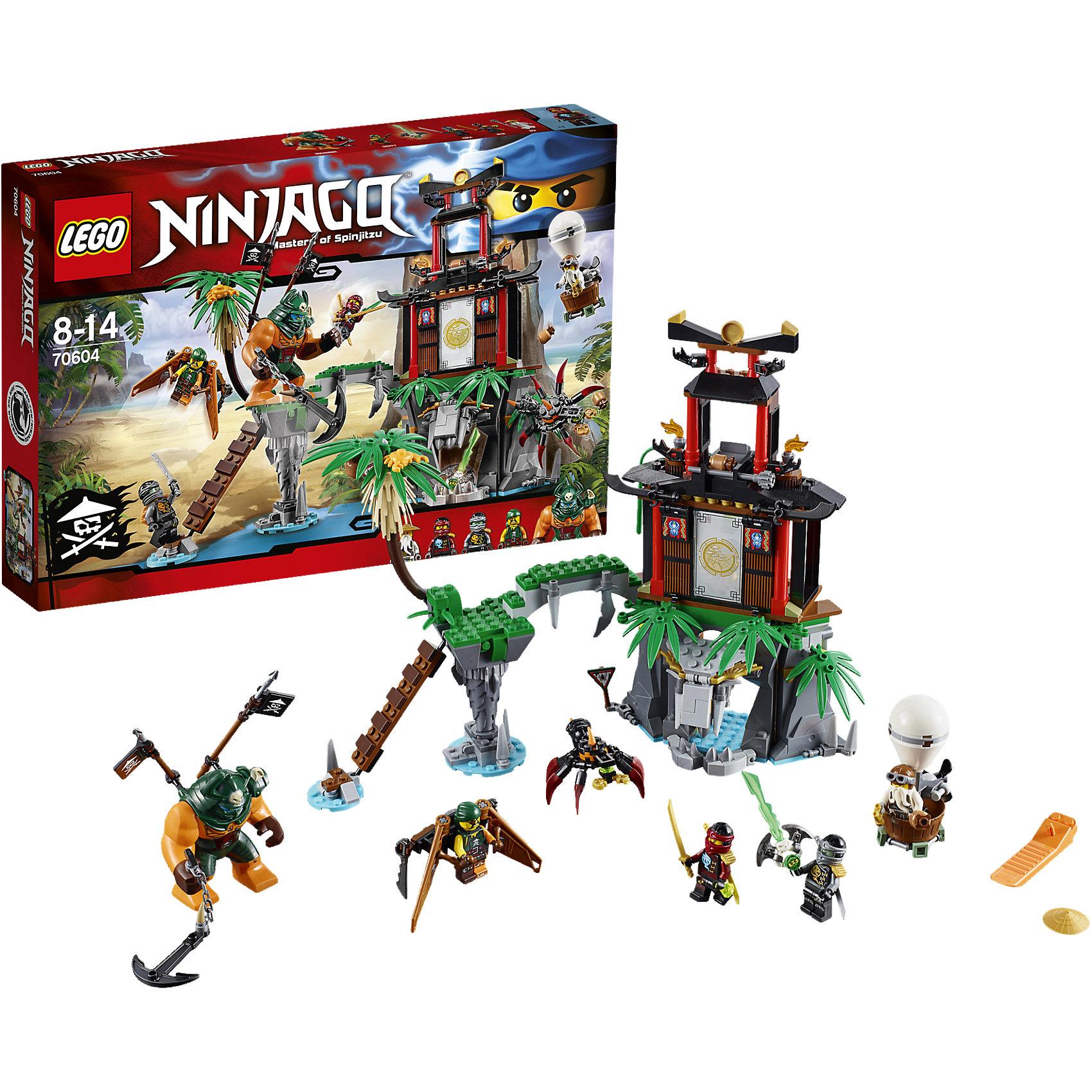 LEGO LEGO NINJAGO 70604: Остров тигриных вдов коутс а клуб юных вдов