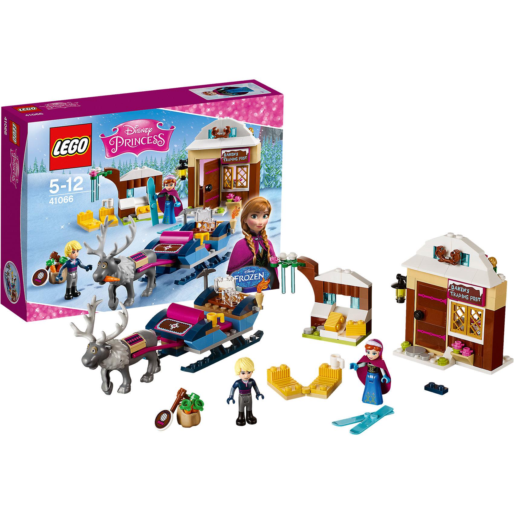 LEGO LEGO Disney Princesses 41066: Анна и Кристоф: прогулка на санях lego lego disney princesses 41066 анна и кристоф прогулка на санях