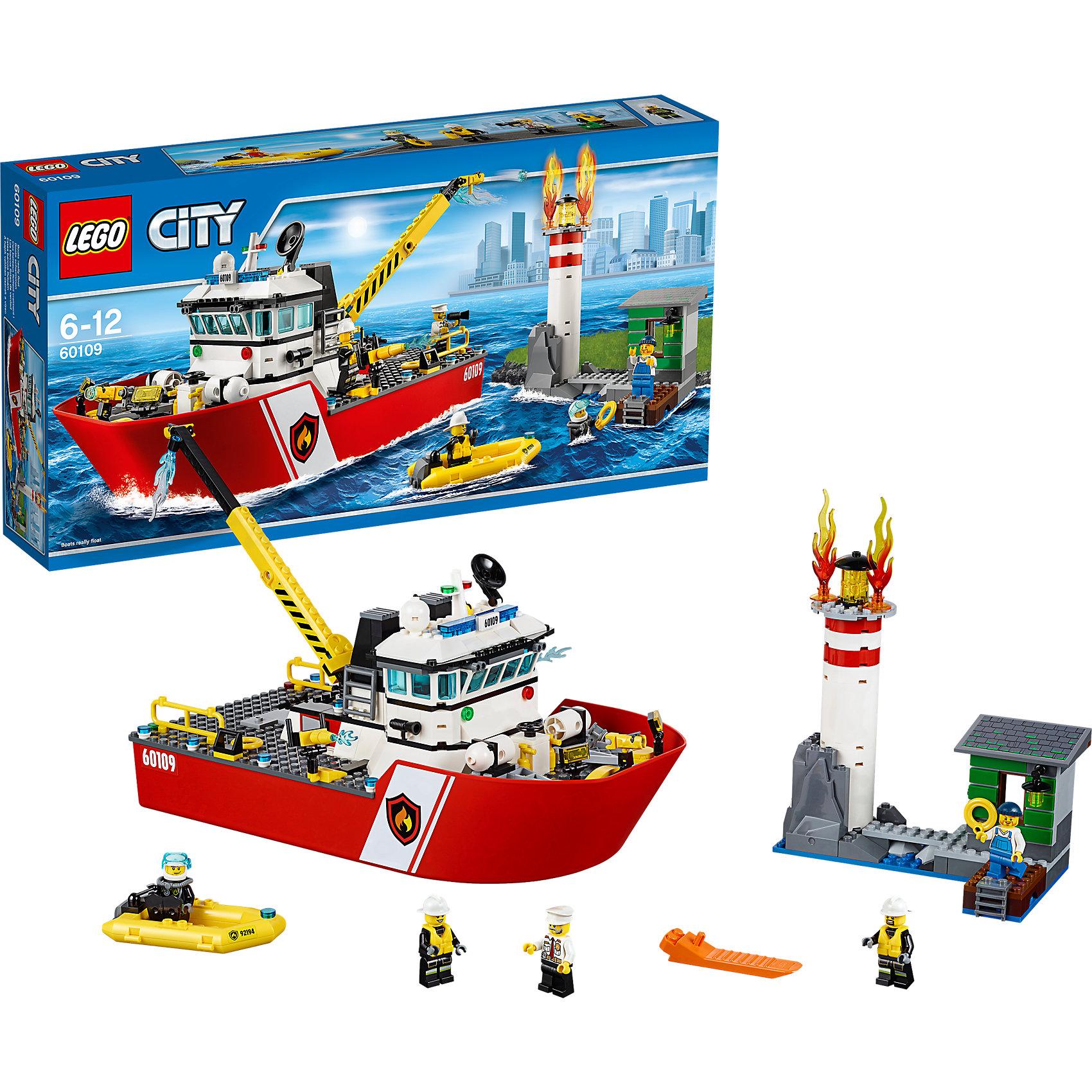 lego-city-60109-пожарный-катер
