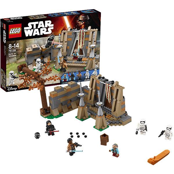LEGO Star Wars 75139: Битва на ТокаданаПластмассовые конструкторы<br><br>Ширина мм: 385; Глубина мм: 261; Высота мм: 64; Вес г: 676; Возраст от месяцев: 96; Возраст до месяцев: 168; Пол: Мужской; Возраст: Детский; SKU: 4259082;