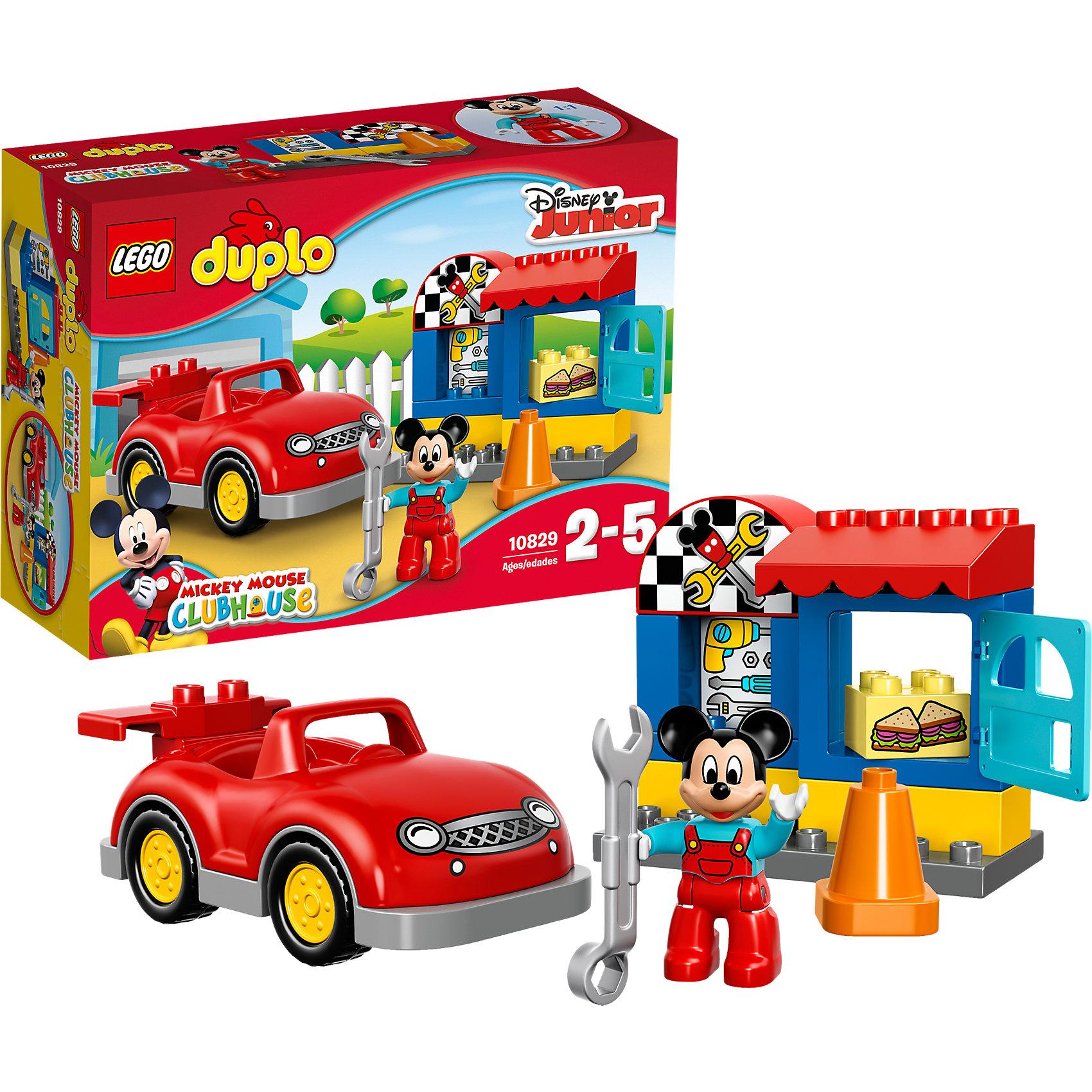 LEGO DUPLO 10829: Мастерская Микки