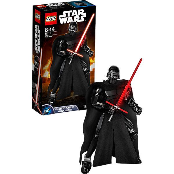 LEGO Star Wars 75117: Кайло РенИгрушки<br>LEGO Star Wars (ЛЕГО Звездные войны) 75117: Кайло Рен станет прекрасным подарком для всех поклонников знаменитой киносаги. В наборе Вы найдете детали для сборки фигурки Кайло Рена, персонажа нового фильма Звездные Войны. Пробуждение Силы.<br>Кайло Рен - ярый враг Сопротивления, мечтающий уничтожить последнего джедая. Также, он принадлежал к организации Рыцари Рен, которые были союзниками Первого Ордена. Фигурка очень похожа на своего экранного персонажа: Кайло одет в темную броню со шлемом, сверху накинут длинный плащ. Все части тела фигурки подвижные, благодаря чему ей можно придать любую позу. В комплект также входит оружие персонажа - необычный световой меч с гардой, сделанный им собственноручно. <br> <br>Все конструкторы серии ЛЕГО Звездные войны созданы по мотивам знаменитой киносаги Звездные войны и воспроизводят самые популярные сюжеты и эпизоды фильма. В наборах представлены все основные средства вооружения и боевые единицы, задействованные в фильме.<br>Фантастические истребители, машины, роботы, оружие, фигурки персонажей выполнены очень реалистично, с высокой степенью детализации.<br><br>Дополнительная информация:<br><br>- Игра с конструктором LEGO (ЛЕГО) развивает мелкую моторику ребенка, фантазию и воображение, учит его усидчивости и внимательности.<br>- Количество деталей: 86.<br>- Серия: LEGO Star Wars (ЛЕГО Звездные войны).<br>- Материал: пластик.<br>- Размер упаковки: 26,5 х 6,5 х 14 см.<br>- Вес: 0,26 кг.<br><br>Конструктор LEGO Star Wars (ЛЕГО Звездные войны) 75117: Кайло Рен можно купить в нашем интернет-магазине.<br><br>Ширина мм: 264<br>Глубина мм: 142<br>Высота мм: 65<br>Вес г: 232<br>Возраст от месяцев: 96<br>Возраст до месяцев: 168<br>Пол: Мужской<br>Возраст: Детский<br>SKU: 4259112