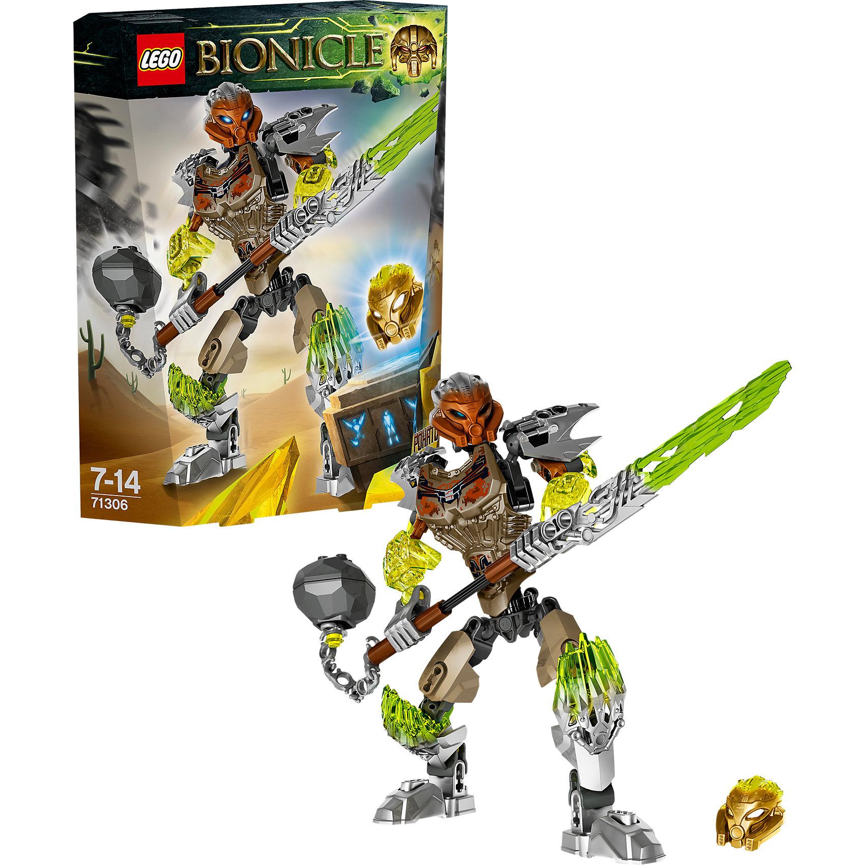 LEGO LEGO BIONICLE 71306: Похату - Объединитель Камня bionicle максилос и спинакс