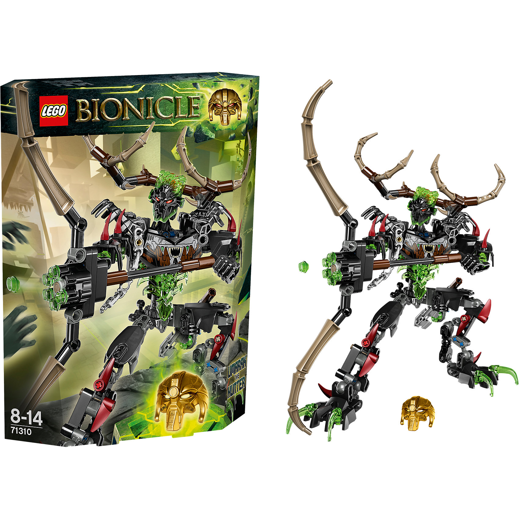 LEGO LEGO BIONICLE 71310: Охотник Умарак bionicle максилос и спинакс