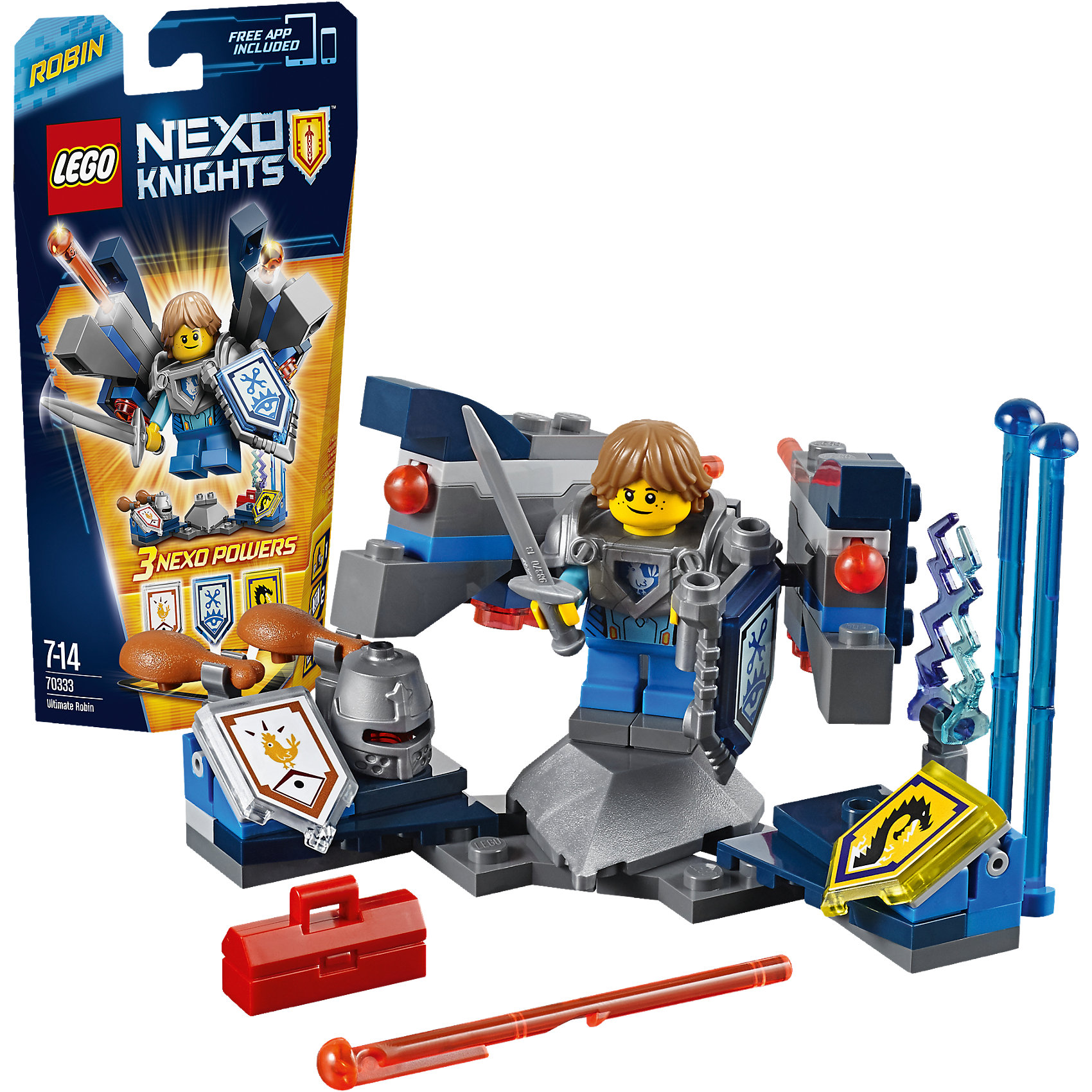 LEGO LEGO NEXO KNIGHTS 70333: Робин – Абсолютная сила knights of sidonia volume 6
