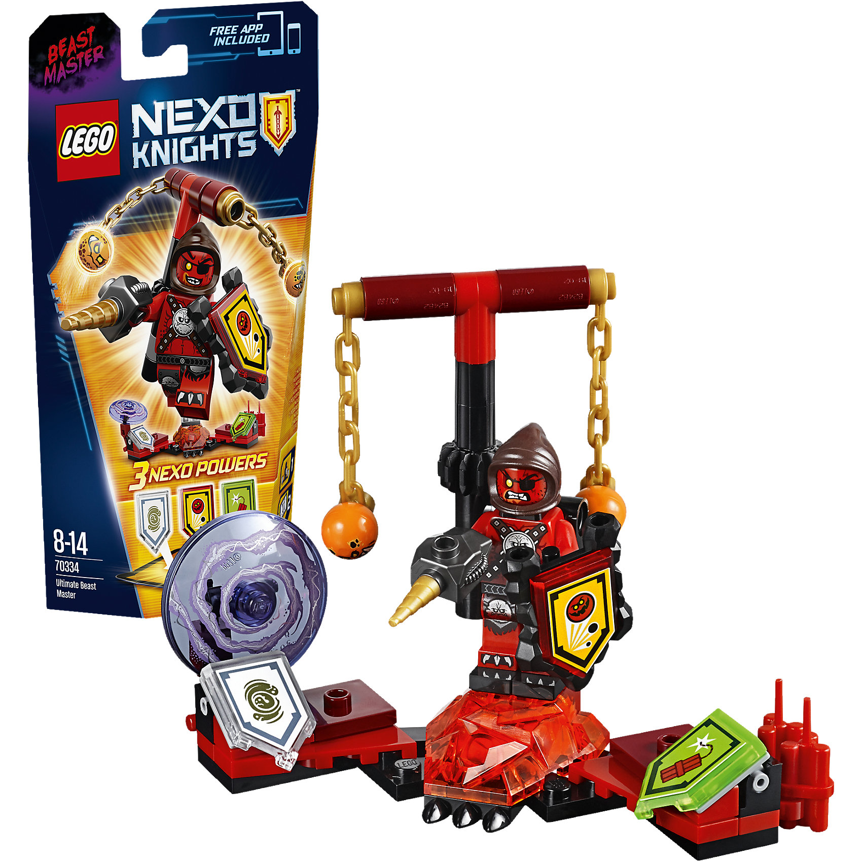 LEGO LEGO NEXO KNIGHTS 70334: Предводитель монстров – Абсолютная сила lego lego nexo knights 70334 предводитель монстров – абсолютная сила