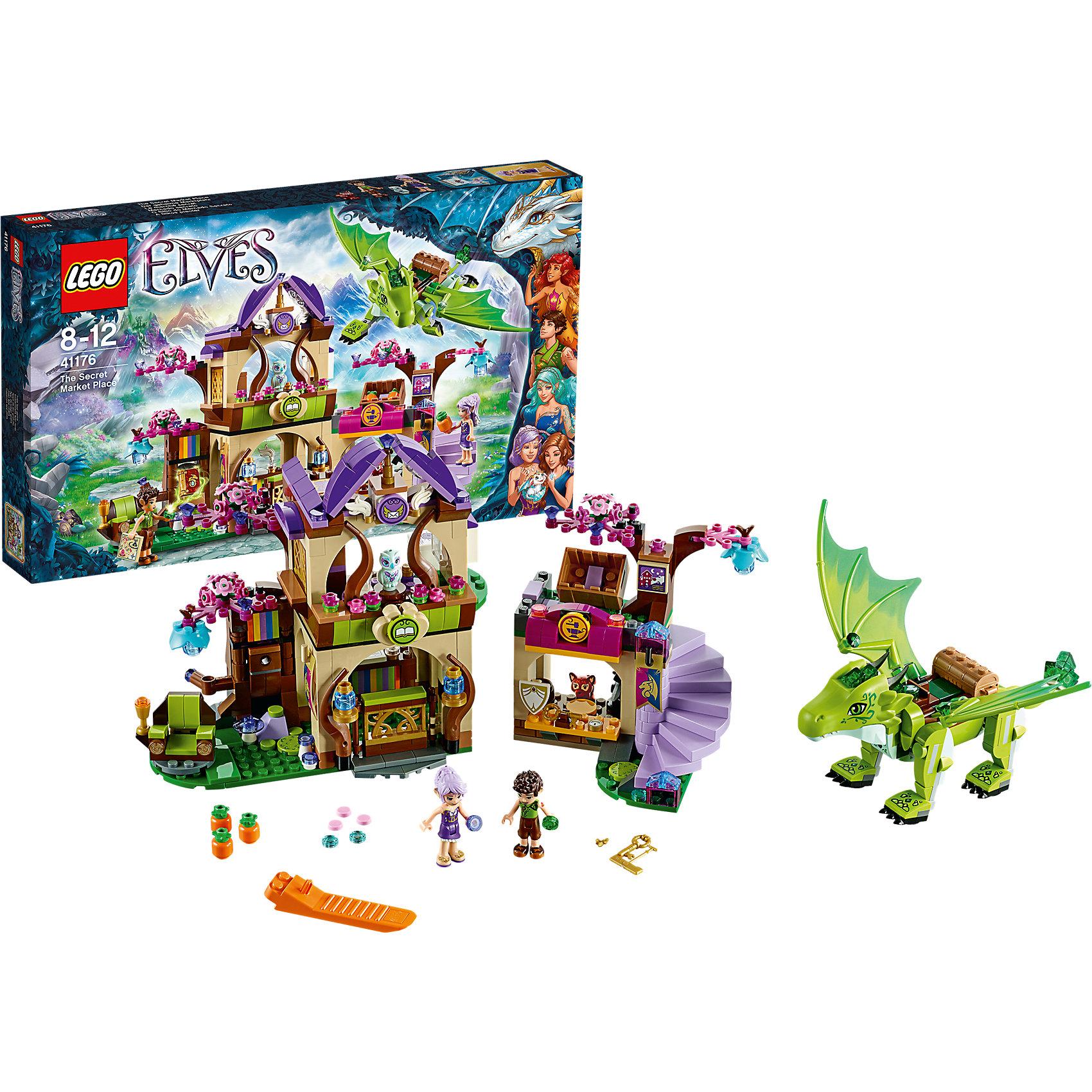 LEGO LEGO Elves 41176: Секретный рынок эльф фея