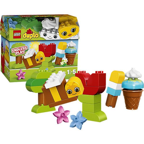 LEGO DUPLO 10817: Времена годаКонструкторы для малышей<br>LEGO DUPLO (ЛЕГО Дупло) 10817: Времена года идеально подойдет для самых маленьких строителей. Ваш малыш познакомится с разными временами года и их особенностями: весной расцветают цветочки и появляются маленькие цыплята, летом не обойтись без прохладного мороженого, осенью дерево покрывается нарядными листьями, а зимние забавы невозможно представить без снеговика. В набор входят декорированные блоки разных форм, чтобы вдохновить ребёнка на создание простых моделей и развивать его воображение.<br><br>ЛЕГО Дупло - серия конструкторов для малышей, которую отличают крупные яркие детали со скругленными безопасными углами и многообразие игровых сюжетов, это и животные, и растения, и машинки, и сказочные персонажи. <br><br>Дополнительная информация:<br><br>- Игра с конструктором LEGO (ЛЕГО) развивает мелкую моторику ребенка, фантазию и воображение, учит его усидчивости и внимательности.<br>- Количество деталей: 70.<br>- Количество минифигур: 0.<br>- Серия: LEGO DUPLO (ЛЕГО Дупло). <br>- Материал: пластик.<br>- Размер упаковки: 26 х 16,5 х 22 см.<br>- Вес: 0,91 кг.<br><br>Конструктор LEGO DUPLO (ЛЕГО Дупло) 10817: Времена года можно купить в нашем интернет-магазине.<br><br>Ширина мм: 263<br>Глубина мм: 223<br>Высота мм: 164<br>Вес г: 901<br>Возраст от месяцев: 18<br>Возраст до месяцев: 60<br>Пол: Унисекс<br>Возраст: Детский<br>SKU: 4259150