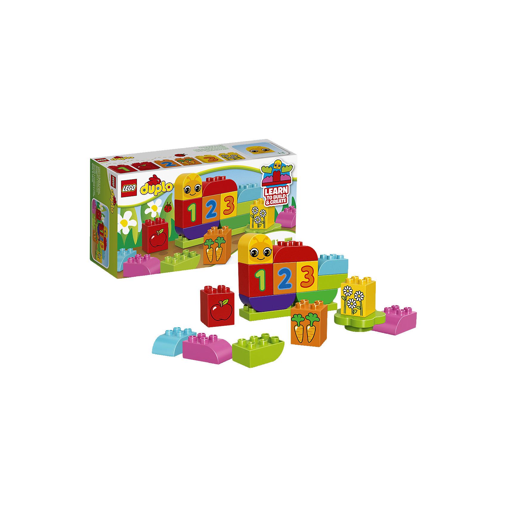 LEGO LEGO DUPLO 10831: Моя веселая гусеница lego duplo 10508 лего дупло большой поезд