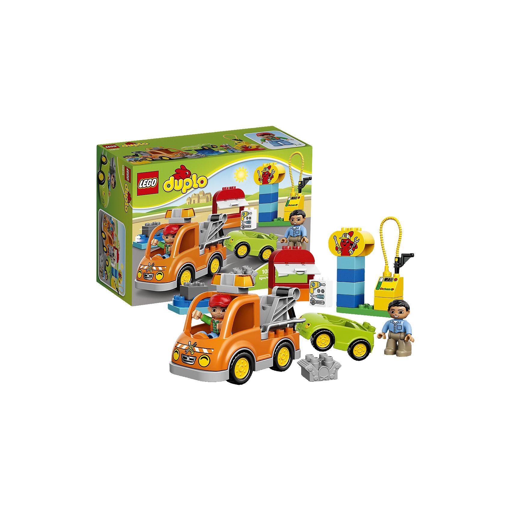 LEGO LEGO DUPLO 10814: Буксировщик lego duplo 10508 лего дупло большой поезд