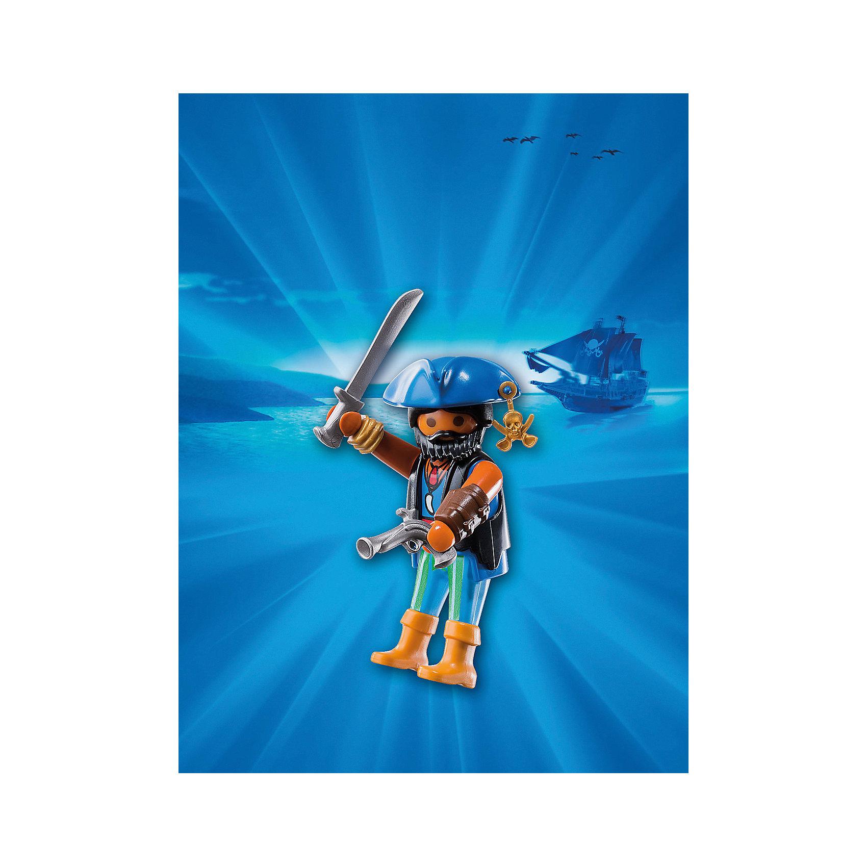 Друзья: Пираты Карибского моря, PLAYMOBILПластмассовые конструкторы<br>В  этом наборе представлена фигурка пирата с оружием. Все детали набора прекрасно проработаны, выполнены из высококачественного пластика безопасного для детей. <br><br>Дополнительная информация:<br><br>- Комплектация: фигурка, оружие.<br>- Материал: пластик.<br>- Размер упаковки: 16х12х3 см.<br>- Высота фигурки: 7,5 см. <br>- Голова, руки, ноги у фигурки подвижные.<br><br>Набор Друзья: Пираты Карибского моря, PLAYMOBIL (Плеймобил), можно купить в нашем магазине.<br><br>Ширина мм: 160<br>Глубина мм: 119<br>Высота мм: 27<br>Вес г: 35<br>Возраст от месяцев: 48<br>Возраст до месяцев: 120<br>Пол: Мужской<br>Возраст: Детский<br>SKU: 4260574