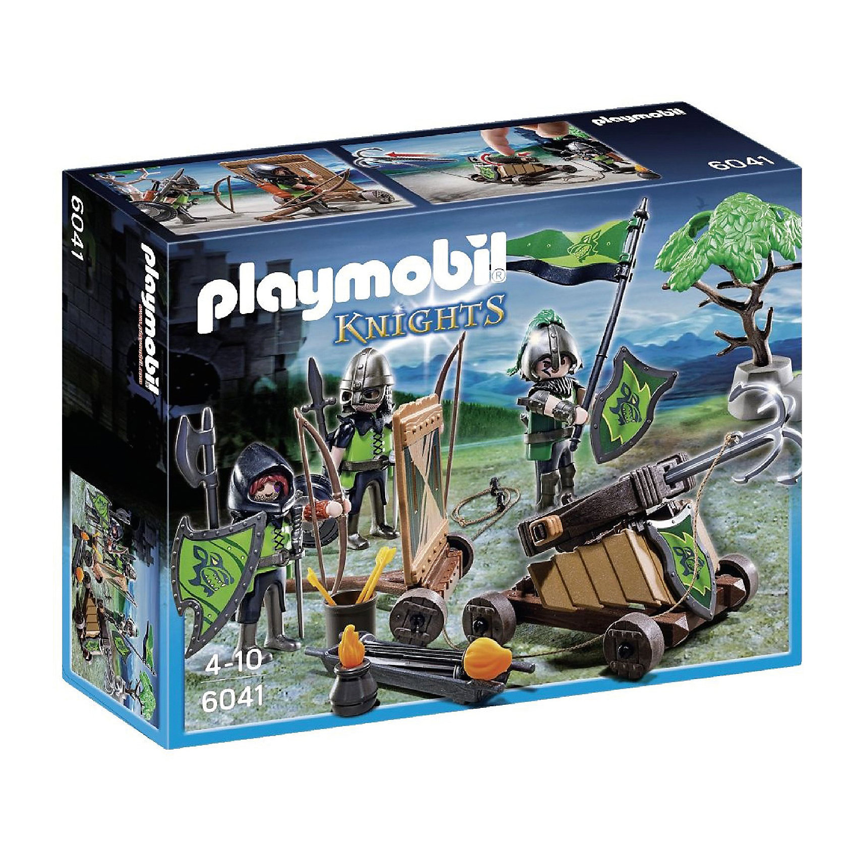PLAYMOBIL® PLAYMOBIL 6041 Рыцари: Катапульта Рыцарей Волка  weekend 2 pc classic kiddy