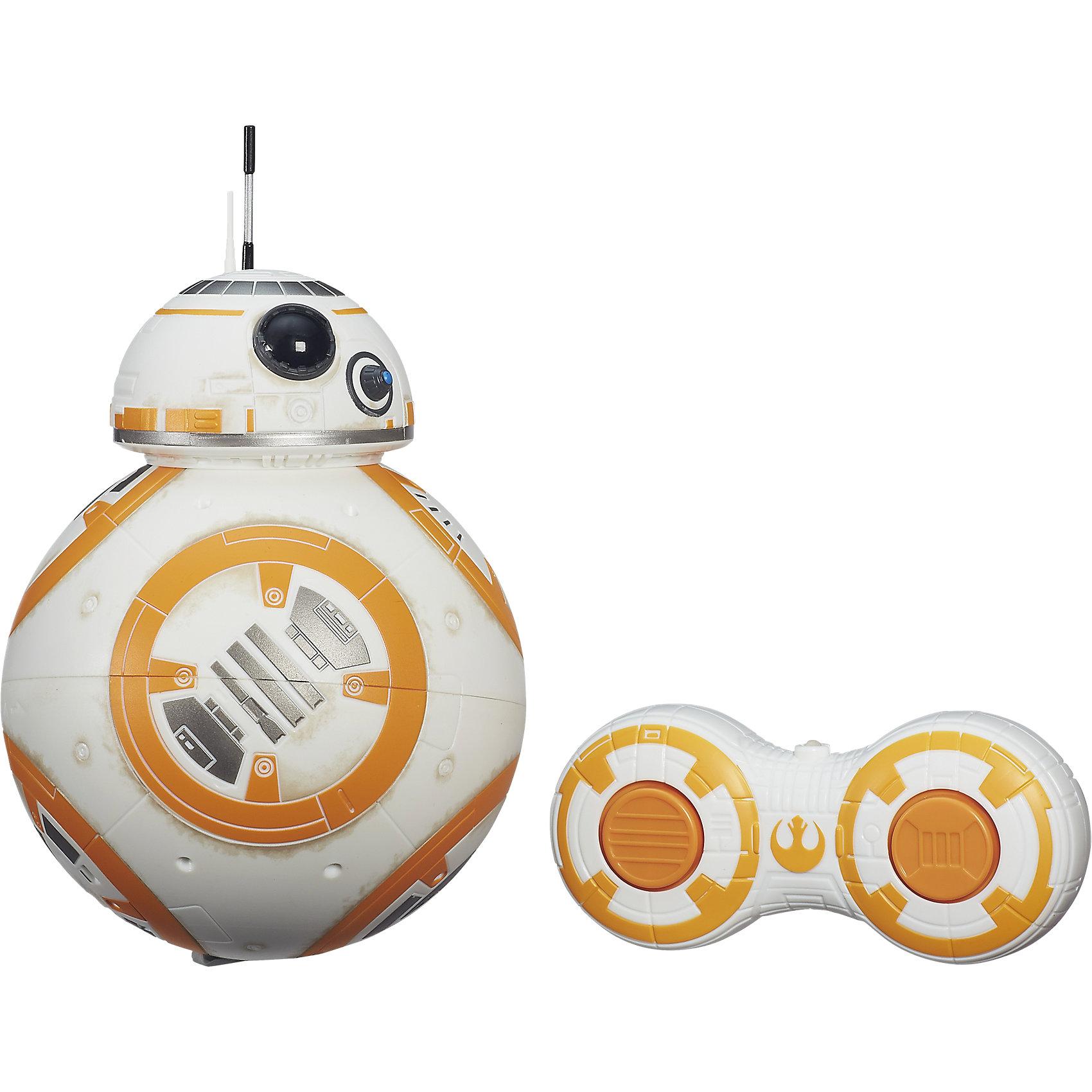 Дроид BB-8 с пультом управления, Звездные войныСпасай галактику, управляя дроидом - одним из основных героев нового фильма Звездных войн. Дроид на пульте управления, в точности повторяющий внешний вид и уникальные свойства киноперсонажа, позволит детям вопроизвести сцены кино у себя дома.<br><br>Дополнительная информация:<br><br>Дальность действия: около 8 м<br>Размеры: 16 x 22 x 14 см<br>Вес: 450 г<br>Для работы необходимы батарейки: 4 x AA/LR06 + 2 x AAA/LR03 (в комплект не входят).<br><br>Дроида BB-8 с пультом управления, Звездные войны (Star Wars) можно купить в нашем магазине.<br><br>Ширина мм: 234<br>Глубина мм: 175<br>Высота мм: 142<br>Вес г: 734<br>Возраст от месяцев: 60<br>Возраст до месяцев: 120<br>Пол: Мужской<br>Возраст: Детский<br>SKU: 4261594