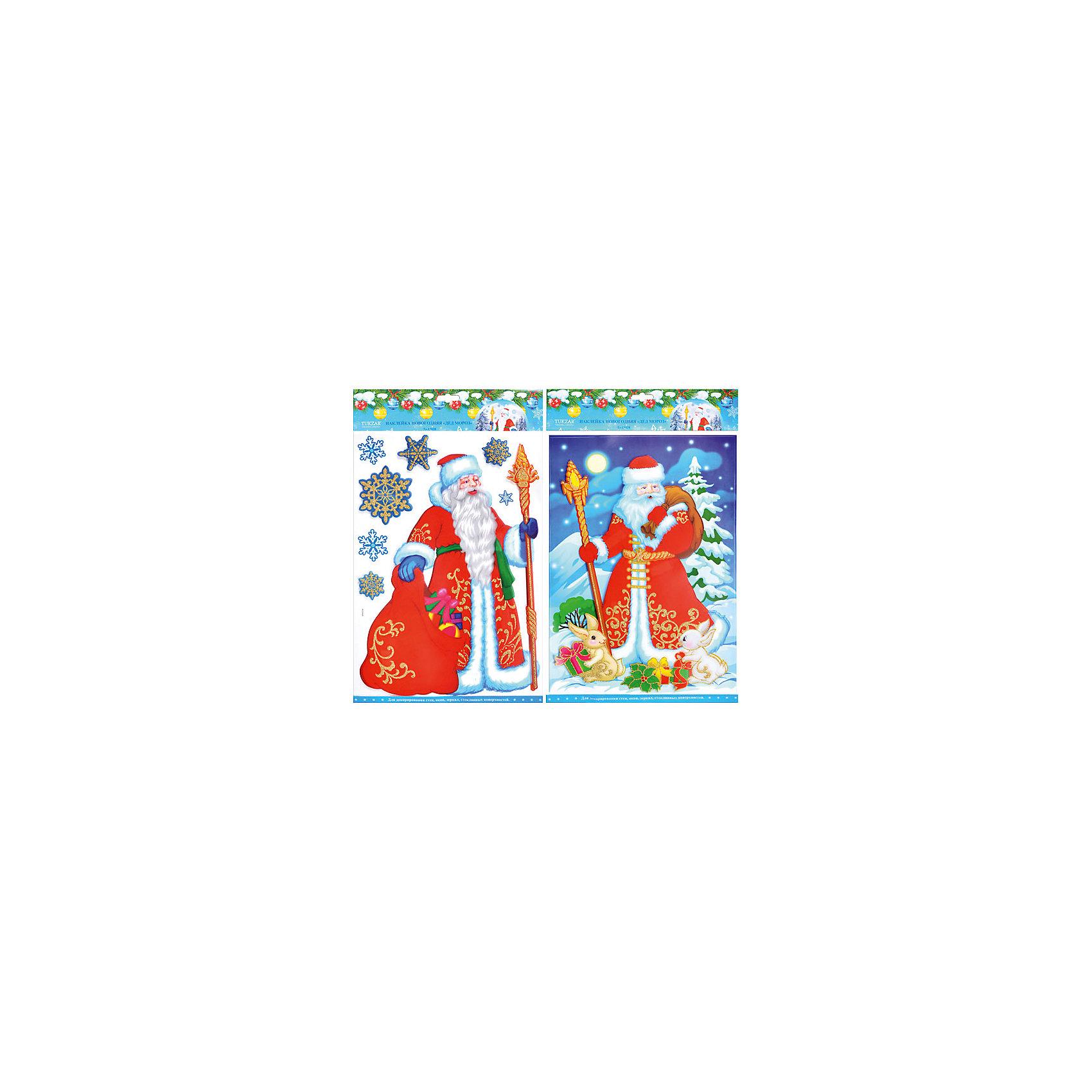 Наклейка-панно 3D Дед Мороз, в ассортиментеНовинки Новый Год<br>Наклейка-панно 3D Дед Мороз, в ассортименте – этот новогодний аксессуар создаст в доме волшебную праздничную атмосферу.<br>Красочная 3D наклейка-панно замечательно украсит Ваш новогодний интерьер и создаст праздничное настроение! В ассортименте представлены 2 варианта дизайна наклейки-панно с изображением Деда Мороза. Украшение также послужит замечательным мини-презентом близким и друзьям!<br><br>Дополнительная информация:<br><br>- В ассортименте: 2 вида<br>- Размер упаковки: 29 х 41 см.<br>- Вес: 80 гр.<br>- ВНИМАНИЕ! Данный артикул представлен в разных вариантах исполнения. К сожалению, заранее выбрать определенный вариант невозможно. При заказе нескольких наборов возможно получение одинаковых<br><br>Наклейку-панно 3D Дед Мороз, в ассортименте можно купить в нашем интернет-магазине.<br><br>Ширина мм: 10<br>Глубина мм: 290<br>Высота мм: 410<br>Вес г: 80<br>Возраст от месяцев: 36<br>Возраст до месяцев: 1188<br>Пол: Унисекс<br>Возраст: Детский<br>SKU: 4262241