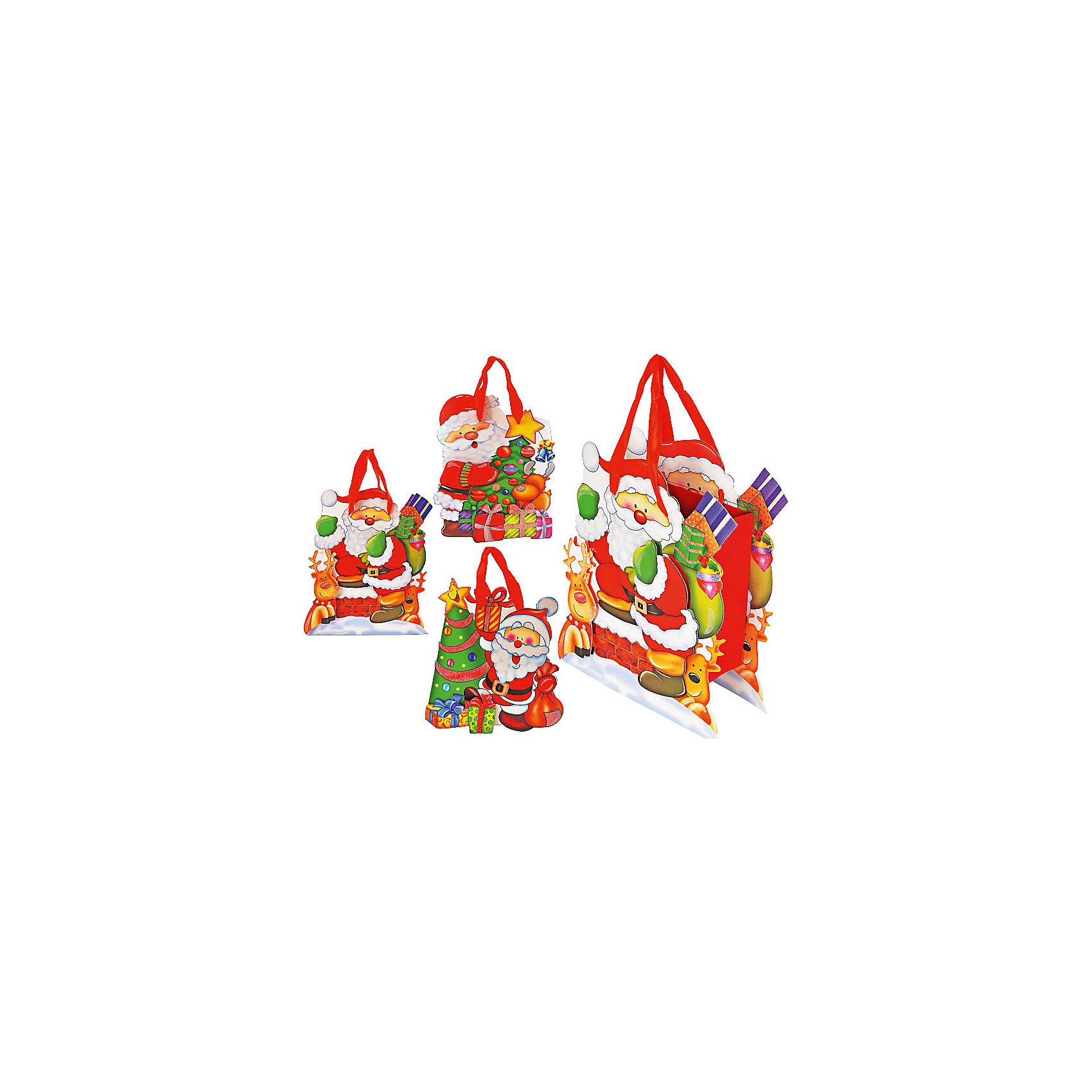 Пакет подарочный с объёмной аппликацией Дед Мороз, в ассортиментеНовинки Новый Год<br>Пакет подарочный с объёмной аппликацией Дед Мороз, в ассортименте – этот яркий аксессуар станет достойным украшением новогоднего подарка.<br>Пакет подарочный Дед Мороз поможет Вам красиво оформить новогодний подарок для своих родных и друзей. Красочный пакет нарядно украшен объёмной аппликацией.<br><br>Дополнительная информация:<br><br>- В ассортименте: 3 дизайна<br>- Размер: 26 х 25 х 8 см.<br>- Вес: 102 гр.<br>- ВНИМАНИЕ! Данный артикул представлен в разных вариантах исполнения. К сожалению, заранее выбрать определенный вариант невозможно. При заказе нескольких наборов возможно получение одинаковых<br><br>Пакет подарочный с объёмной аппликацией Дед Мороз, в ассортименте можно купить в нашем интернет-магазине.<br><br>Ширина мм: 260<br>Глубина мм: 250<br>Высота мм: 80<br>Вес г: 102<br>Возраст от месяцев: 36<br>Возраст до месяцев: 1188<br>Пол: Унисекс<br>Возраст: Детский<br>SKU: 4262245