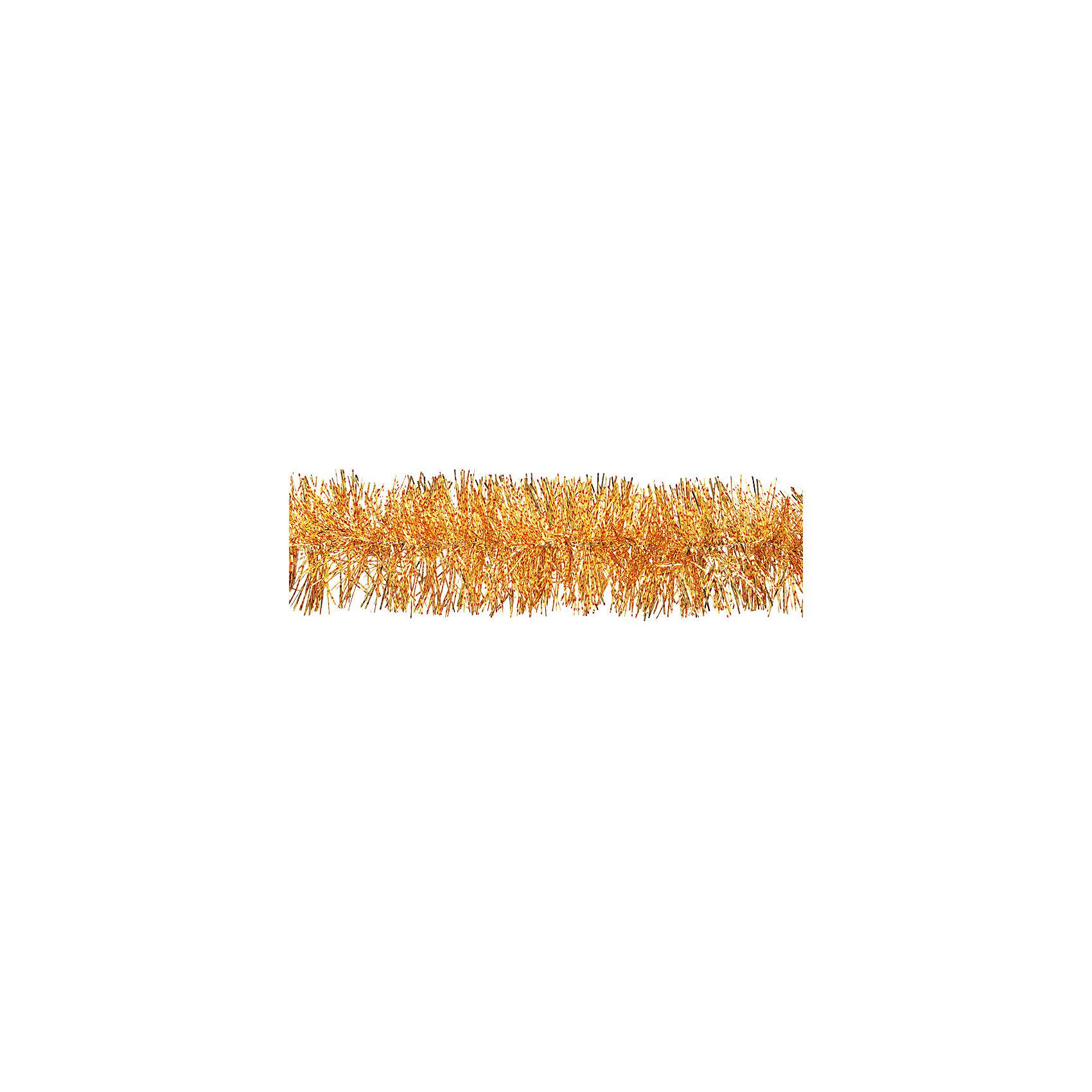 Мишура золотая 9х200см
