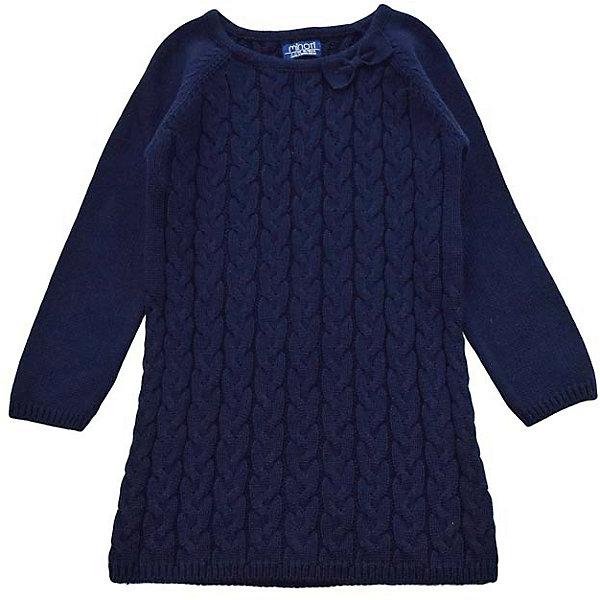 Платье для девочки MinotiПлатья<br>Платье для девочки от популярной английской марки Minoti<br><br>Вязаное платье отличается продуманным кроем и эффектным дизайном. Модель легко надевается, отлично смотрится, не стесняет движения. <br>Особенности модели:<br><br>- цвет: синий;<br>- хлопковая пряжа;<br>- узорная вязка - косы;<br>- рукава - реглан;<br>- небольшой бант на вороте;<br>- горловой вырез - круглый;<br>- на вороте, внизу и на рукавах - трикотажная резинка.<br><br>Дополнительная информация:<br><br>Состав:  100% хлопок<br><br>Уход за изделием:<br><br>стирка в машине при температуре до 30°С,<br>не отбеливать.<br><br>Платье для девочки от Minoti (Минотти) можно купить в нашем магазине<br><br>Ширина мм: 190<br>Глубина мм: 74<br>Высота мм: 229<br>Вес г: 236<br>Цвет: синий<br>Возраст от месяцев: 12<br>Возраст до месяцев: 15<br>Пол: Женский<br>Возраст: Детский<br>Размер: 80/86,92/98,98/104,86/92<br>SKU: 4263027