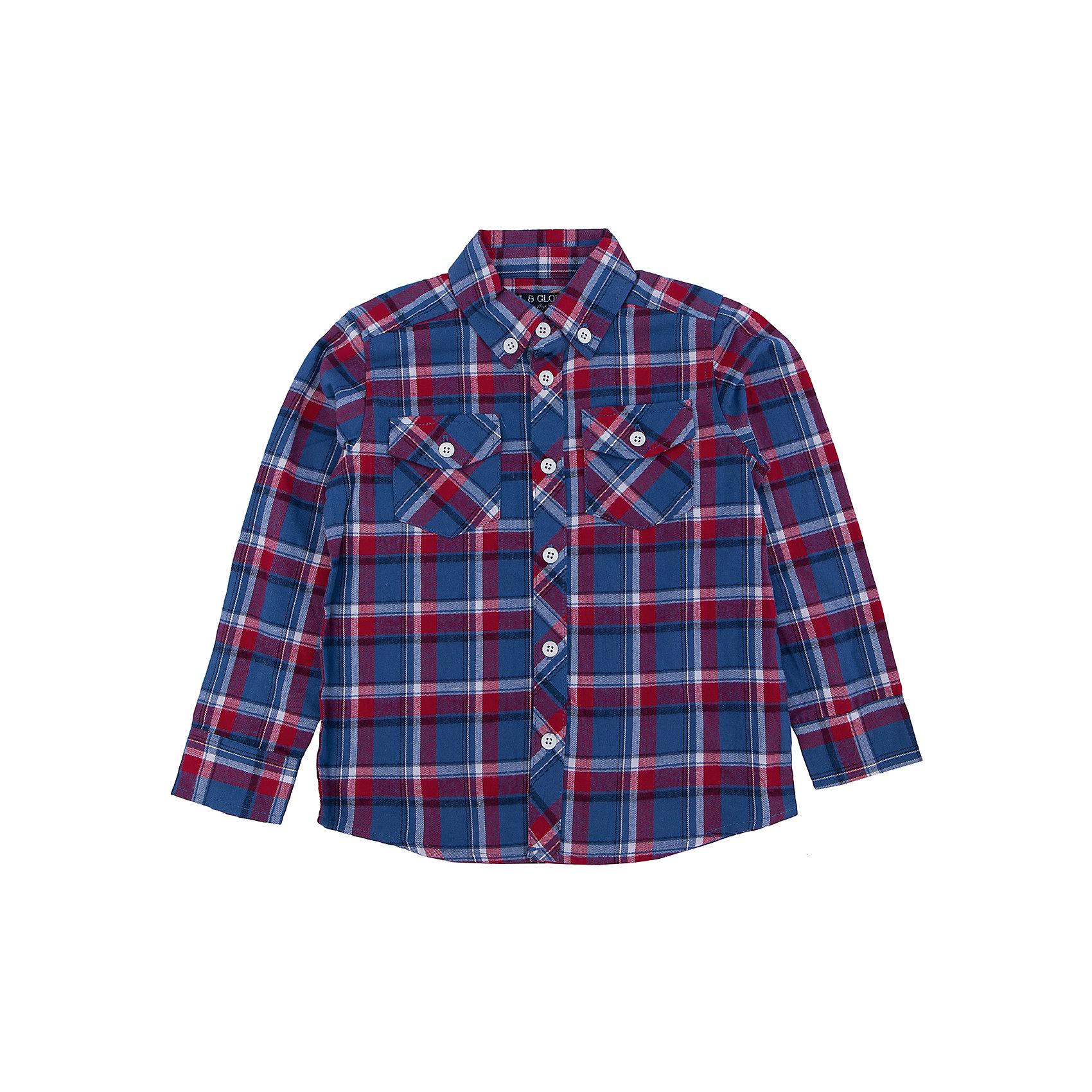 Рубашка для мальчика Soul and GloryРубашка для мальчика от популярной английской марки Soul and Glory<br><br>Модная клетчатая рубашка отличается продуманным кроем и эффектным дизайном. Модель легко надевается, отлично смотрится, не стесняет движения. Материал содержит натуральный хлопок, гипоаллергенный, дышащий и приятный на ощупь.<br><br>Особенности модели:<br><br>- материал: хлопковая ткань;<br>- цвет: красный, синий, белый, в клетку;<br>- два кармана на груди;<br>- отложной воротник;<br>- застежки-пуговицы;<br>- рукава длинные.<br><br>Дополнительная информация:<br><br>Состав: 100% хлопок<br><br>Уход за изделием:<br><br>стирка в машине при температуре до 30°С,<br>не отбеливать,<br>гладить на средней температуре.<br><br>Рубашку для мальчика от Soul and Glory (Соул энд Глори) можно купить в нашем магазине<br><br>Ширина мм: 190<br>Глубина мм: 74<br>Высота мм: 229<br>Вес г: 236<br>Цвет: синий<br>Возраст от месяцев: 24<br>Возраст до месяцев: 36<br>Пол: Мужской<br>Возраст: Детский<br>Размер: 98/104,122/128,110/116,104/110<br>SKU: 4263087