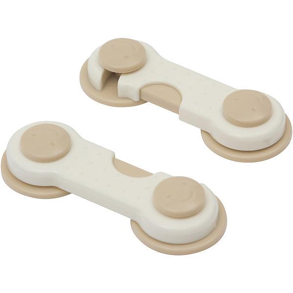 Блокиратор для мебели 2 шт, Roxy-kidsБлокирующие и защитные устройства для дома<br>Этот  универсальный замок предназначен для закрепления дверей шкафов, комодов, столов и другой мебели. Благодаря двойному креплению-липучке, блокиратор удобно фиксируется на любых плоских поверхностях.<br><br>Дополнительная информация:<br><br>- Материал: пластик.<br>- 2 блокиратора в комплекте. <br><br>Блокиратор для мебели 2 шт, Roxy-kids, можно купить в нашем магазине.<br>Ширина мм: 115; Глубина мм: 205; Высота мм: 10; Вес г: 150; Возраст от месяцев: 0; Возраст до месяцев: 12; Пол: Унисекс; Возраст: Детский; SKU: 4264171;