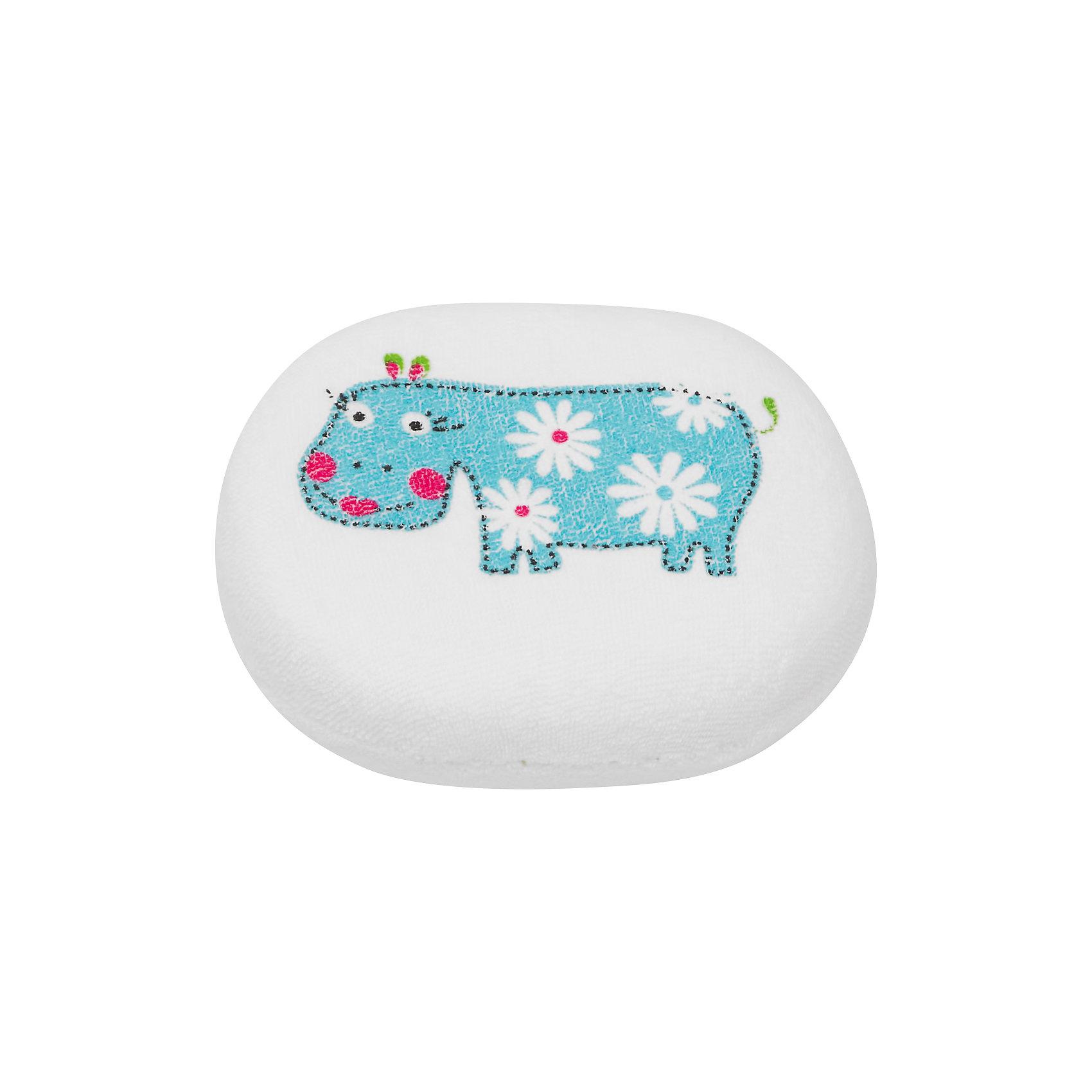 Roxy-Kids Мягкая губка с хлопковым покрытием, Roxy-kids roxy kids круг музыкальный на шею для купания flipper цвет розовый