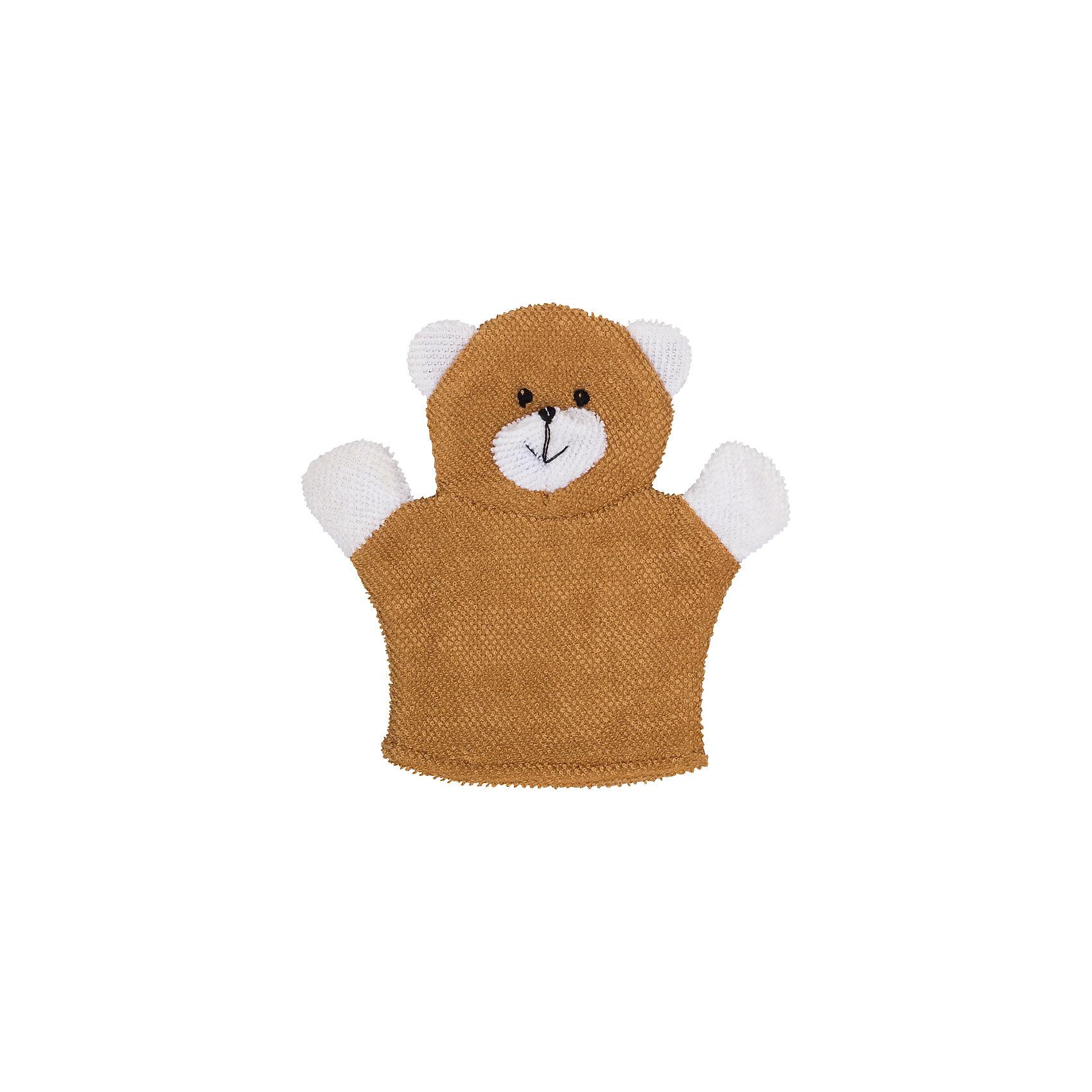 Махровая мочалка-рукавичка Baby Bear, Roxy-kidsМахровая мочалка-рукавичка имеет мягкую фактуру, выполнена в виде веселого мишки, она приведет в восторг все малышей, сделает процесс купания веселым и радостным.  Поверхность бережно моет, не царапая и не раздражая нежную детскую кожу. Мочалка сшита из натурального хлопка, поэтому изделие подходит не только под все типы кожи, но и может использоваться для детей, склонных к кожным аллергиям. Натуральное волокно и гигиеничность компонента делают эту мочалку лучшей в числе детских мочалок для купания. <br><br>Дополнительная информация:<br><br>- Материал: хлопок.<br>- Размер упаковки: 15х25х1 см. <br><br>Махровую мочалку-рукавичку Baby Bear, Roxy-kids, можно купить в нашем магазине.<br><br>Ширина мм: 150<br>Глубина мм: 255<br>Высота мм: 10<br>Вес г: 100<br>Возраст от месяцев: 0<br>Возраст до месяцев: 36<br>Пол: Унисекс<br>Возраст: Детский<br>SKU: 4264177