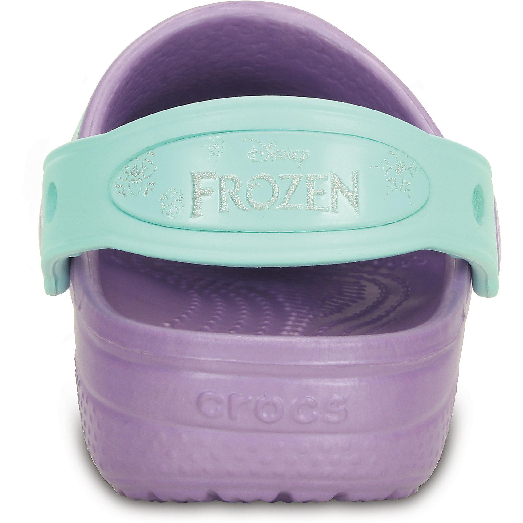 Сабо Girls' Creative Crocs Frozen Clog CROCS от myToys