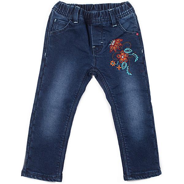 Джинсы для девочки Sweet BerryДжинсы<br>Джинсы для девочки, на флисовой подкладке, пояс на резинке, дополнительно регулируется шнурками, украшены вышивкой.<br>Состав:<br>Верх: 98% хлопок, 2% эластан, Подкладка 100% полиэстер<br>Ширина мм: 215; Глубина мм: 88; Высота мм: 191; Вес г: 336; Цвет: синий; Возраст от месяцев: 9; Возраст до месяцев: 12; Пол: Женский; Возраст: Детский; Размер: 80,98,92,86; SKU: 4272800;