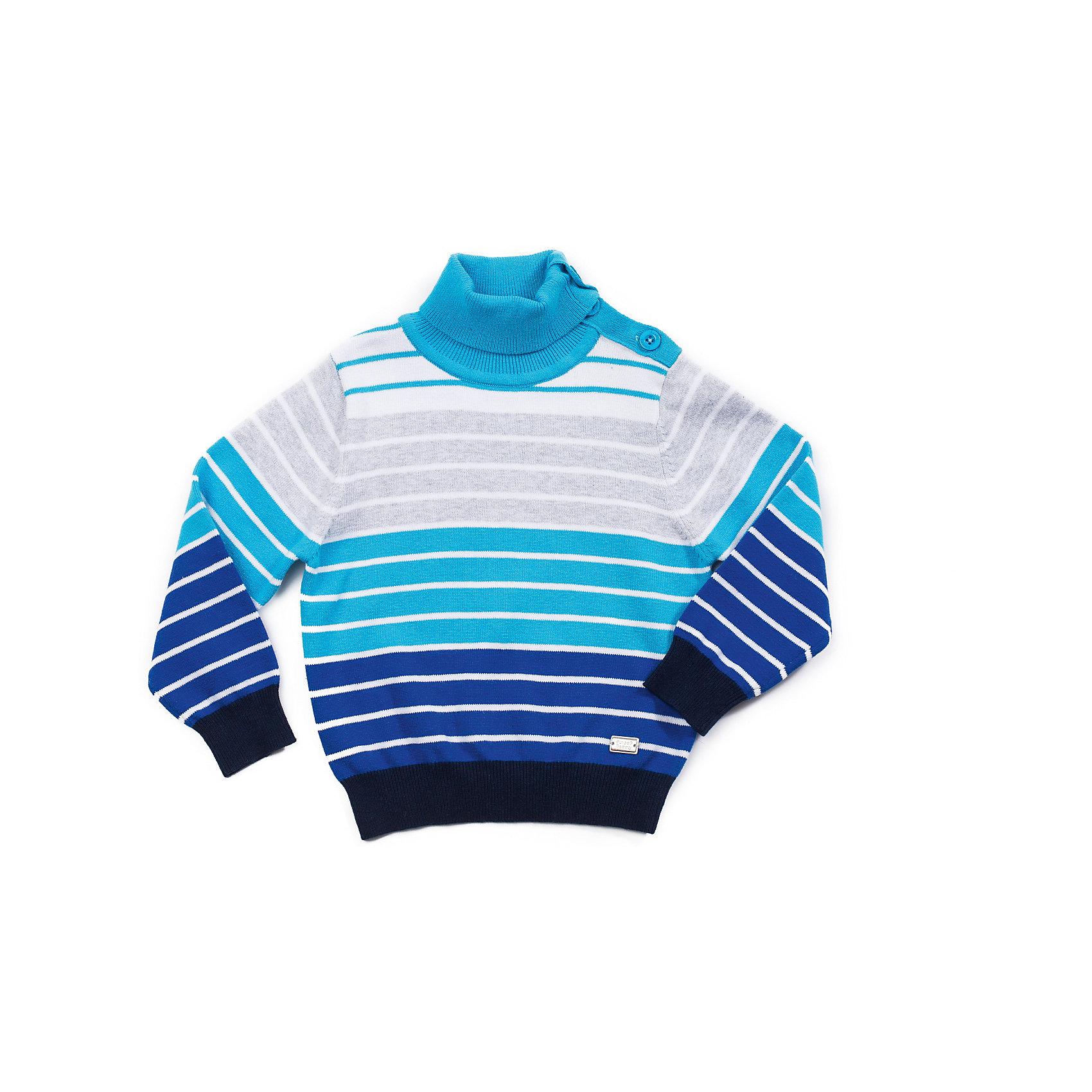 Водолазка для мальчика Sweet BerryВодолазка для мальчика с застежкой по горловине и плечу для более комфортного одевания.<br>Состав:<br>90%хлопок, 10%эластан<br><br>Ширина мм: 230<br>Глубина мм: 40<br>Высота мм: 220<br>Вес г: 250<br>Цвет: разноцветный<br>Возраст от месяцев: 9<br>Возраст до месяцев: 12<br>Пол: Мужской<br>Возраст: Детский<br>Размер: 80,86,92,98<br>SKU: 4273157