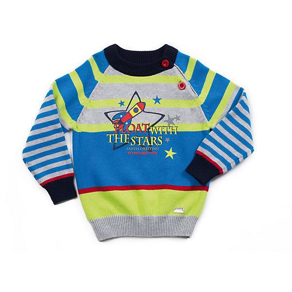Свитер для мальчика Sweet BerryТолстовки, свитера, кардиганы<br>Свитер для мальчика с интересным дизайном. На реглане застежка для комфортного одевания. Принт на тему космоса.<br>Состав:<br>100% хлопок<br><br>Ширина мм: 190<br>Глубина мм: 74<br>Высота мм: 229<br>Вес г: 236<br>Цвет: белый<br>Возраст от месяцев: 12<br>Возраст до месяцев: 18<br>Пол: Мужской<br>Возраст: Детский<br>Размер: 86,98,92,80<br>SKU: 4273207