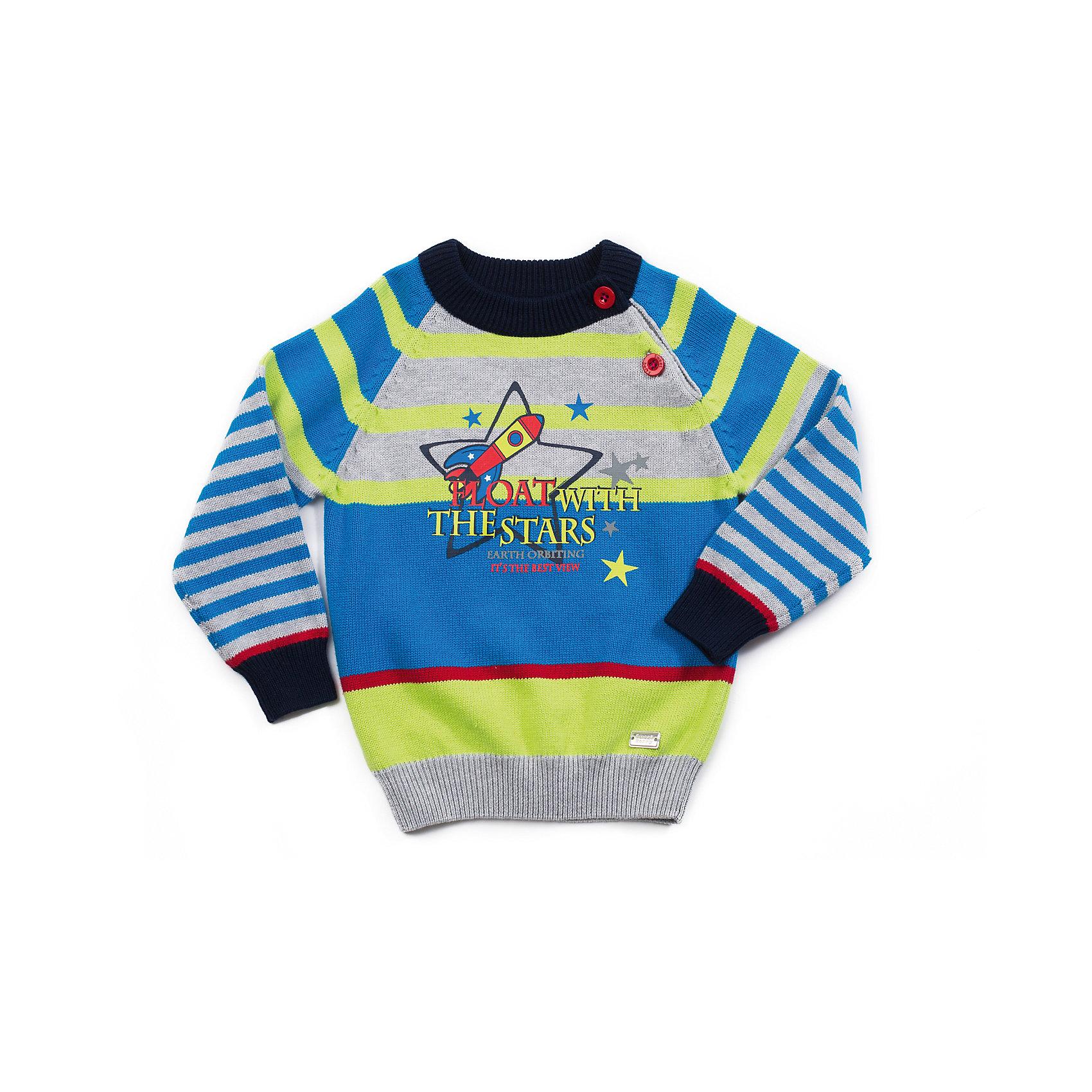 Свитер для мальчика Sweet BerryТолстовки, свитера, кардиганы<br>Свитер для мальчика с интересным дизайном. На реглане застежка для комфортного одевания. Принт на тему космоса.<br>Состав:<br>100% хлопок<br><br>Ширина мм: 190<br>Глубина мм: 74<br>Высота мм: 229<br>Вес г: 236<br>Цвет: разноцветный<br>Возраст от месяцев: 24<br>Возраст до месяцев: 36<br>Пол: Мужской<br>Возраст: Детский<br>Размер: 98,92,86,80<br>SKU: 4273207