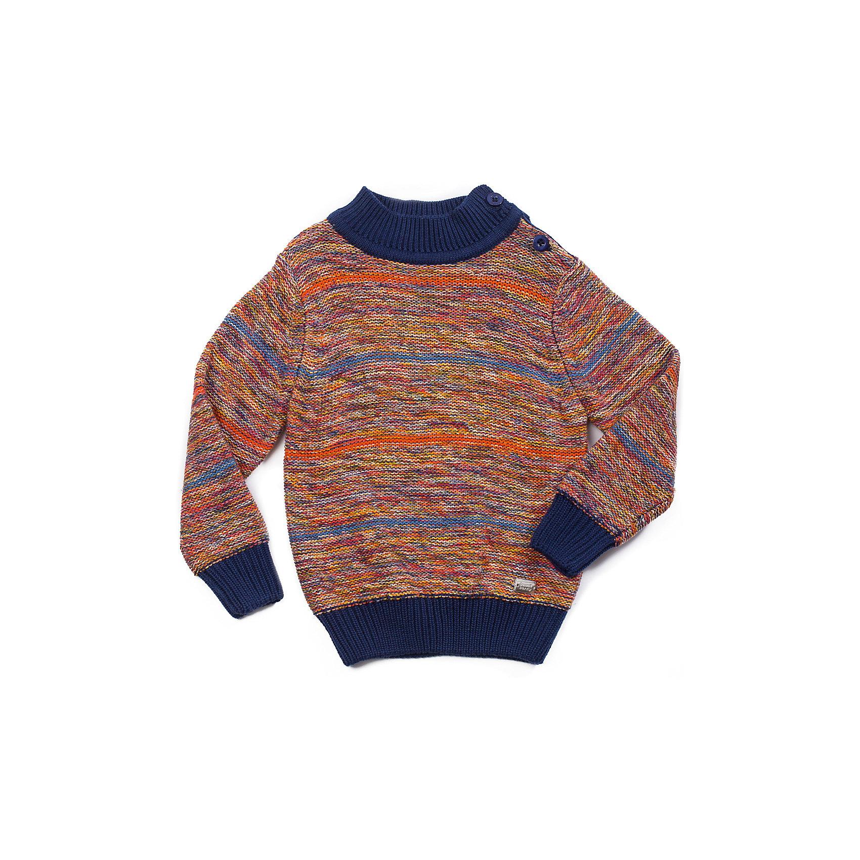 Свитер для мальчика Sweet BerryСвитер для мальчика с модным цветным меланжевым переплетением. Застежка по горловине для комфортного одевания.<br>Состав:<br>60% хлопок, 40% акрил<br><br>Ширина мм: 190<br>Глубина мм: 74<br>Высота мм: 229<br>Вес г: 236<br>Цвет: разноцветный<br>Возраст от месяцев: 12<br>Возраст до месяцев: 18<br>Пол: Мужской<br>Возраст: Детский<br>Размер: 86,80,98,92<br>SKU: 4273247