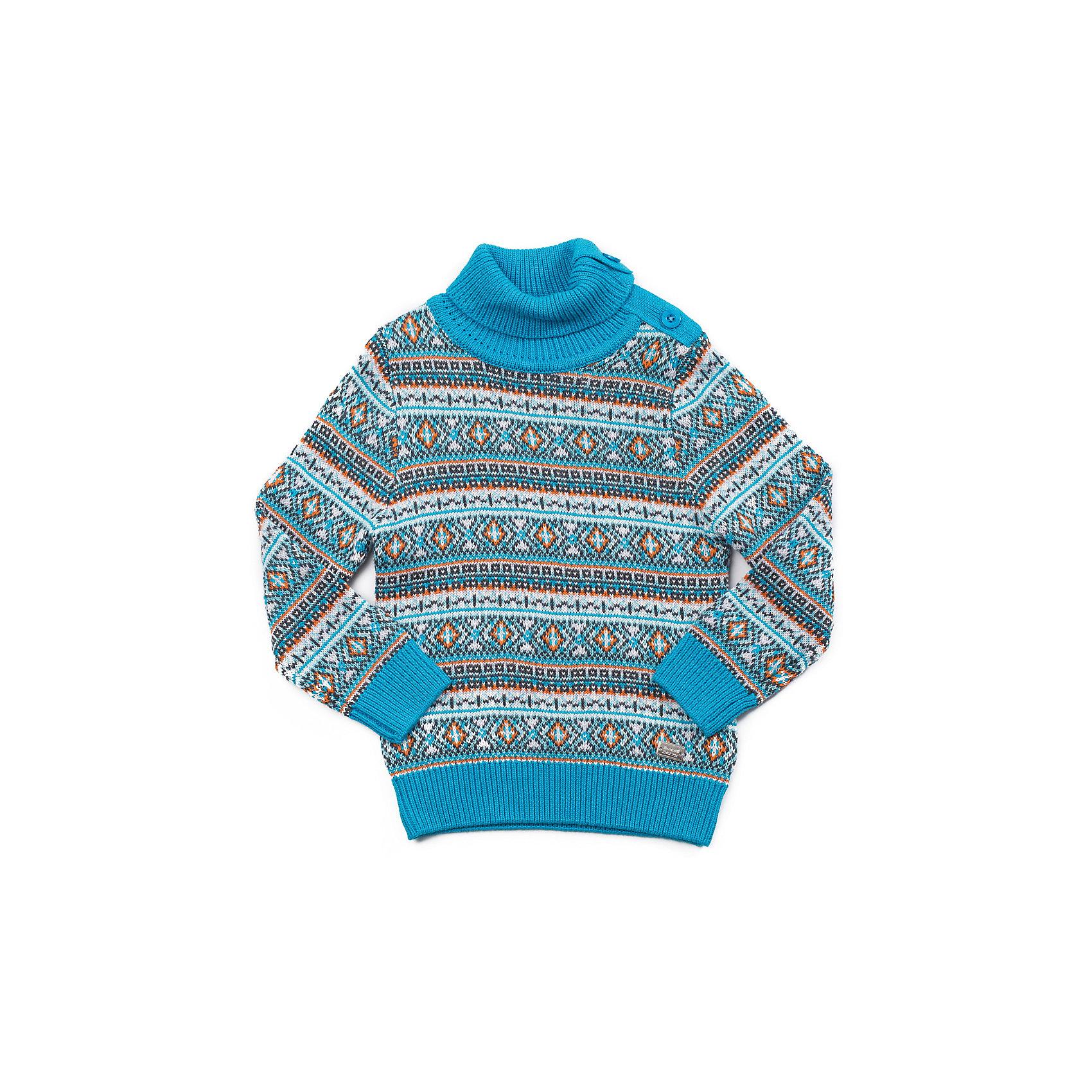 Свитер для мальчика Sweet BerryСвитер для мальчика с застежкой по горловине для комфортного одевания. Модная жаккардовая вязка в виде орнамента.<br>Состав:<br>60% хлопок, 40% акрил<br><br>Ширина мм: 190<br>Глубина мм: 74<br>Высота мм: 229<br>Вес г: 236<br>Цвет: разноцветный<br>Возраст от месяцев: 12<br>Возраст до месяцев: 18<br>Пол: Мужской<br>Возраст: Детский<br>Размер: 86,92,80,98<br>SKU: 4273282