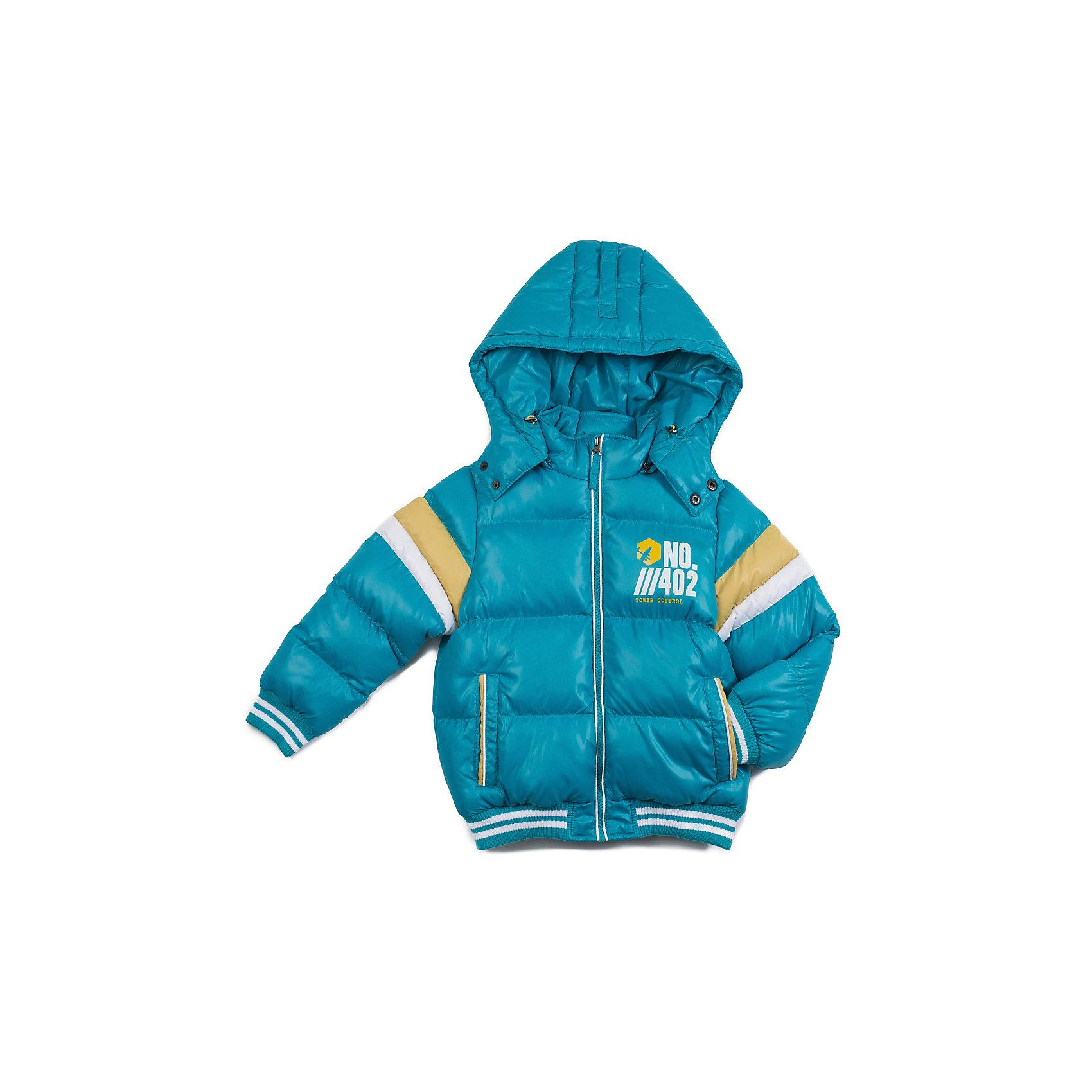 Куртка для мальчика Sweet BerryКуртка для мальчика утепленная, на флисовой подкладке, декорирована вставками на рукавах из контрастной ткани и модным принтом.<br>Состав:<br>Верх: 100% полиэстер, Подкладка: 100%полиэстер, Наполнитель: 100%полиэстер<br><br>Ширина мм: 356<br>Глубина мм: 10<br>Высота мм: 245<br>Вес г: 519<br>Цвет: голубой<br>Возраст от месяцев: 72<br>Возраст до месяцев: 84<br>Пол: Мужской<br>Возраст: Детский<br>Размер: 122,116,104,98,128,110<br>SKU: 4273375