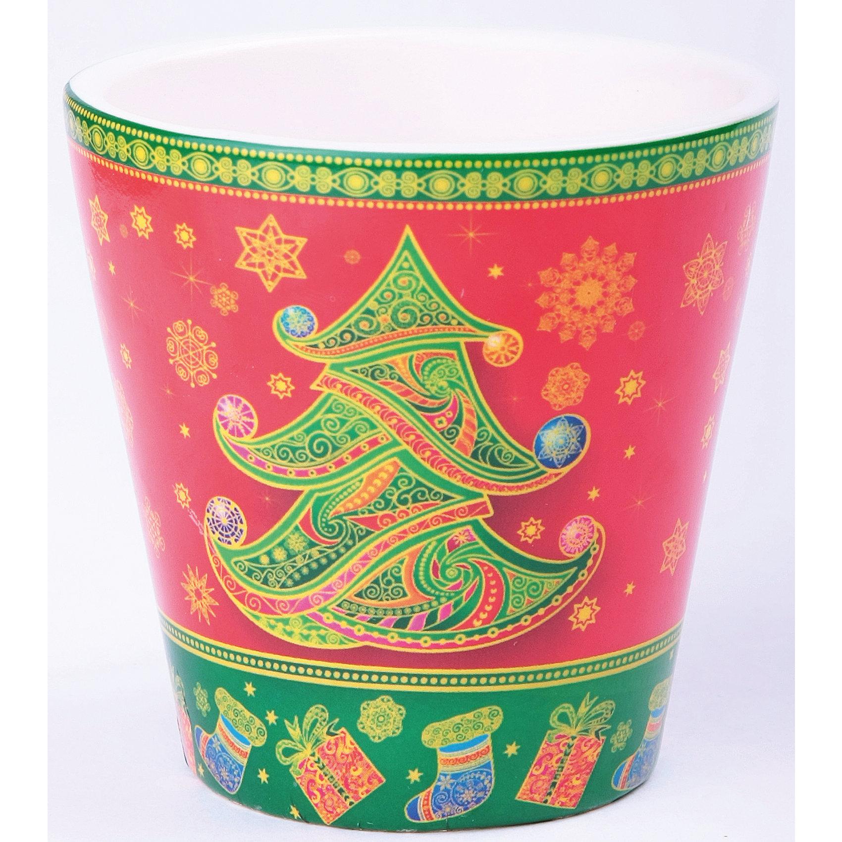 Декоративная свеча 7*7 см ЕлочкаДекоративная свеча, Феникс-презент, станет замечательным украшением Вашего новогоднего интерьера и приятным сувениром для родных и друзей. Восковая свеча помещена в яркий керамический стакан, украшенный изображением новогодней елки и красивых снежинок.<br>Нарядная свеча с привлекательным дизайном будет создавать атмосферу уюта и волшебных новогодних праздников.<br><br><br>Дополнительная информация:<br><br>- Материал: парафиновый воск, керамика.<br>- Размер свечи: 7 х 7 см.<br><br><br>Декоративную свечу, Феникс-презент, можно купить в нашем интернет-магазине.<br><br>Ширина мм: 80<br>Глубина мм: 80<br>Высота мм: 40<br>Вес г: 100<br>Возраст от месяцев: 36<br>Возраст до месяцев: 2147483647<br>Пол: Унисекс<br>Возраст: Детский<br>SKU: 4274694
