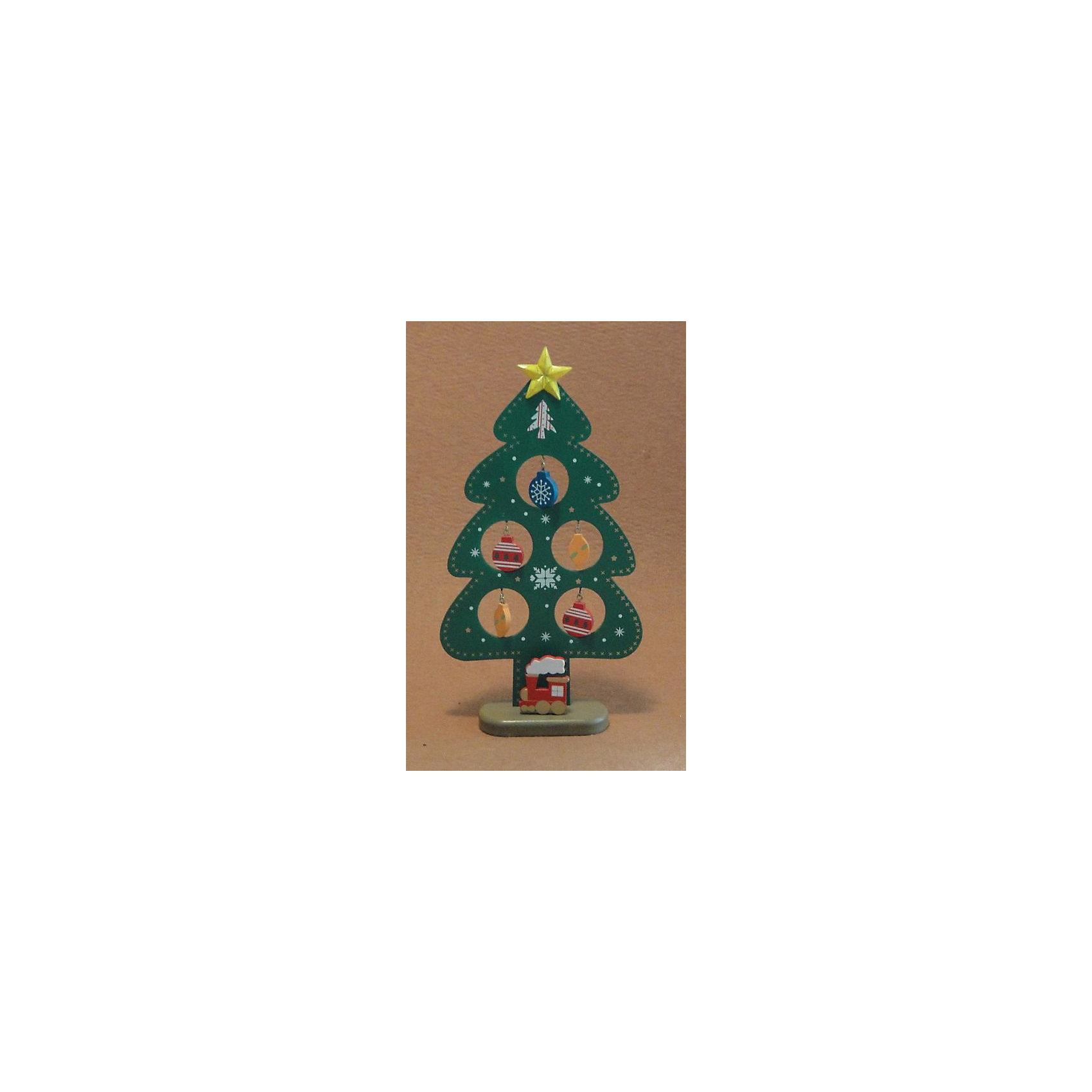 Деревянное украшение Зелёная ёлочка 23 смДеревянное украшение Зелёная ёлочка, Феникс-презент, замечательно украсит Ваш интерьер и станет приятным сувениром для родных и друзей. Украшение выполнено в виде зеленой новогодней елочки на подставке. В елке имеются круглые отверстия с небольшими<br>металлическими крючками, на которые можно повесить деревянные елочные игрушки, входящие в комплект. Симпатичная елочка порадует и взрослых и детей и создаст волшебную атмосферу новогодних праздников. <br><br><br>Дополнительная информация:<br><br>- Материал: древесина тополя.<br>- Высота елки: 23 см.<br>- Размер упаковки: 14,5 х 23 х 2 см.<br><br>Деревянное украшение Зелёная ёлочка, Феникс-презент, можно купить в нашем интернет-магазине.<br><br>Ширина мм: 230<br>Глубина мм: 170<br>Высота мм: 30<br>Вес г: 100<br>Возраст от месяцев: 36<br>Возраст до месяцев: 2147483647<br>Пол: Унисекс<br>Возраст: Детский<br>SKU: 4274715