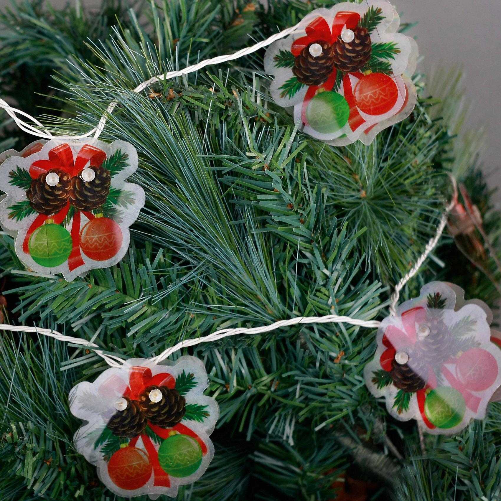 Электрогирлянда Шарики 250 см, 16 лампНовинки Новый Год<br>Электрогирлянда Шарики, Феникс-презент, станет замечательным украшением Вашей новогодней елки или интерьера и поможет создать праздничную волшебную атмосферу. Красочная гирлянда состоит из 16 ламп, каждая из которых помещена между двух пластинок с<br>изображением новогодних шариков с бантиками и шишечками. Гирлянда будет чудесно смотреться на елке и радовать детей и взрослых. Имеется тумблер переключения режимов мигания огней (8 режимов). Мощность ламп - 30,7 Вт, работает от сети 220 В.<br><br><br>Дополнительная информация:<br><br>- Материал: ПВХ.<br>- Размер гирлянды: 250 см.<br>- Размер упаковки: 2 x 19 x 27 см.<br>- Вес: 130 гр. <br><br>Электрогирлянду Шарики 250 см., 16 ламп, Феникс-презент, можно купить в нашем интернет-магазине.<br><br>Ширина мм: 20<br>Глубина мм: 190<br>Высота мм: 270<br>Вес г: 130<br>Возраст от месяцев: 36<br>Возраст до месяцев: 2147483647<br>Пол: Унисекс<br>Возраст: Детский<br>SKU: 4274732