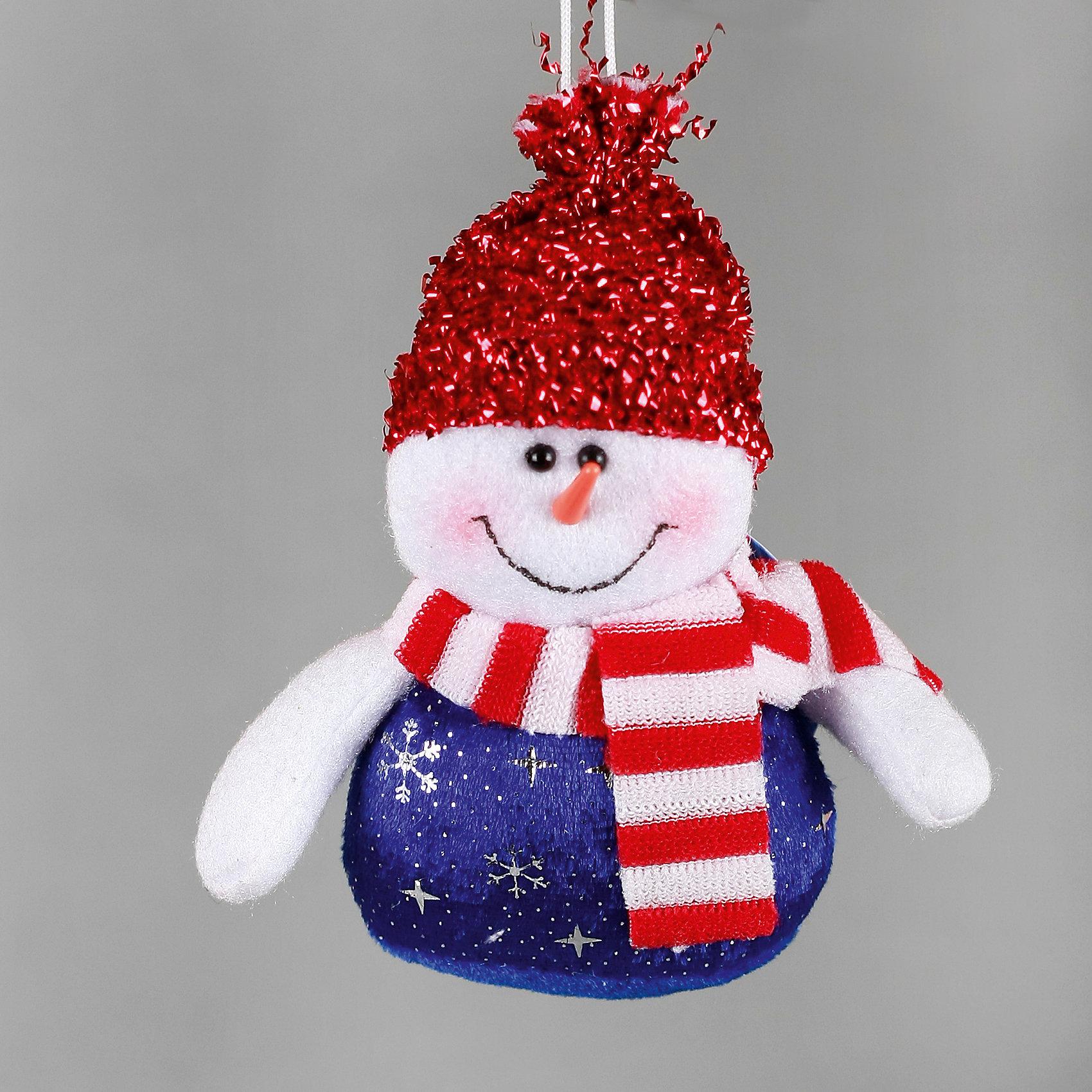 Феникс-Презент Украшение Снеговик в красной шапке