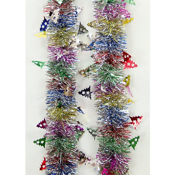 Мишура с елочками 6*200 смНовогодняя мишура и бусы<br>Мишура, Феникс-Презент, станет замечательным украшением Вашей новогодней елки или интерьера и поможет создать праздничную волшебную атмосферу. Мишура выполнена в оригинальном привлекательном дизайне с серебристыми и разноцветными иголками, внутри<br>проволока, позволяющая ей хорошо сохранять форму. Она будет чудесно смотреться на елке и радовать детей и взрослых. <br><br><br>Дополнительная информация:<br><br>- Материал: ПЭТ (полиэтилентерефталат).<br>- Размер мишуры: 6 см. х 2 м.<br>- Вес: 36 гр. <br><br>Мишуру 6*200 см., Феникс-Презент, можно купить в нашем интернет-магазине.<br><br>Ширина мм: 80<br>Глубина мм: 200<br>Высота мм: 60<br>Вес г: 36<br>Возраст от месяцев: 36<br>Возраст до месяцев: 2147483647<br>Пол: Унисекс<br>Возраст: Детский<br>SKU: 4274744