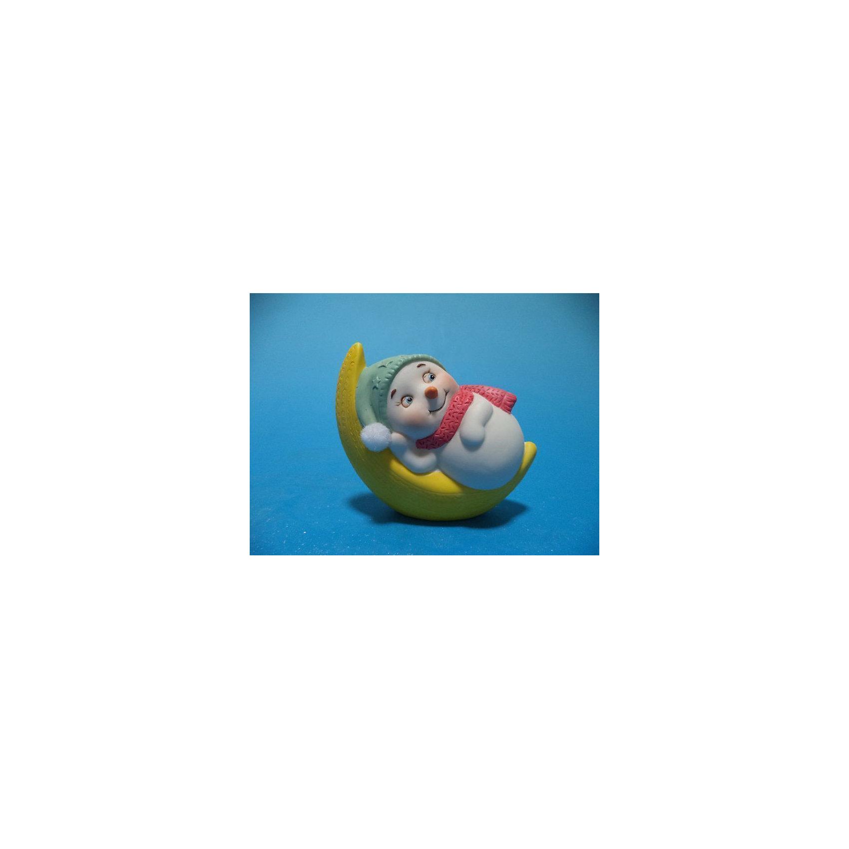Феникс-Презент Снеговик на луне, 8 см феникс презент