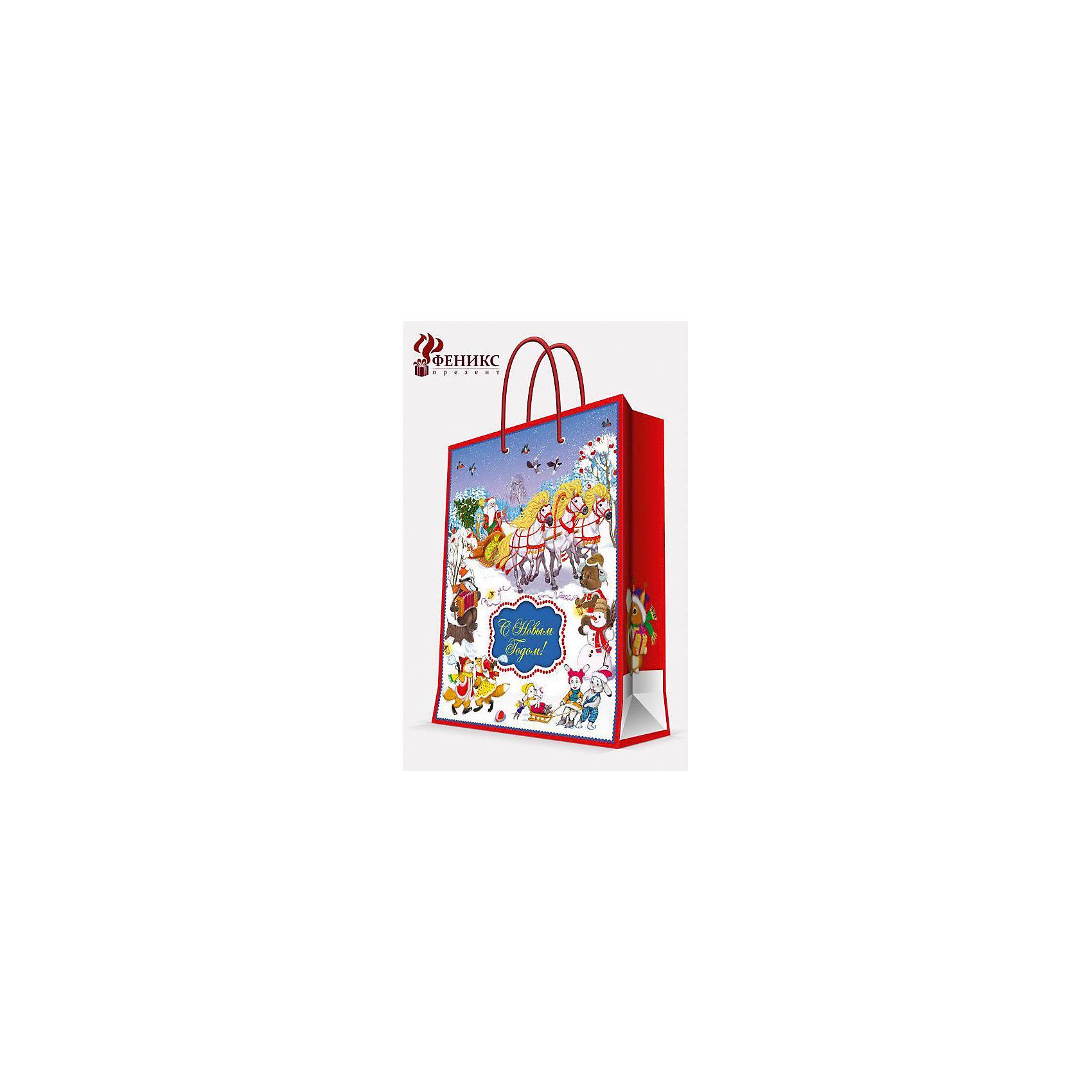 Подарочный пакет Новогодний праздник 17,8*22,9*9,8 смНовинки Новый Год<br>Подарочный пакет Новогодний праздник 17,8*22,9*9,8 см - этот яркий аксессуар станет достойным украшением новогоднего подарка.<br>Подарочный пакет Новогодний праздник XS поможет красиво оформить новогодний подарок для своих родных и друзей. Яркий пакет с новогодней тематикой сделает Ваш подарок эффектным и запоминающимся. Пакет с ламинацией выполнен из плотной бумаги, имеет широкое основание. Для удобной переноски предусмотрены две ручки из шнурков.<br><br>Дополнительная информация:<br><br>- Размер: 17,8 х 22,9 х 9,8 см.<br>- Шириной основания: 17,8 см.<br>- Ламинированный<br>- Ручки: шнурки<br>- Материал: бумага<br>- Плотность: 140 г/м2<br><br>Подарочный пакет Новогодний праздник 17,8*22,9*9,8 см можно купить в нашем интернет-магазине.<br><br>Ширина мм: 1<br>Глубина мм: 180<br>Высота мм: 230<br>Вес г: 42<br>Возраст от месяцев: 36<br>Возраст до месяцев: 2147483647<br>Пол: Унисекс<br>Возраст: Детский<br>SKU: 4274755