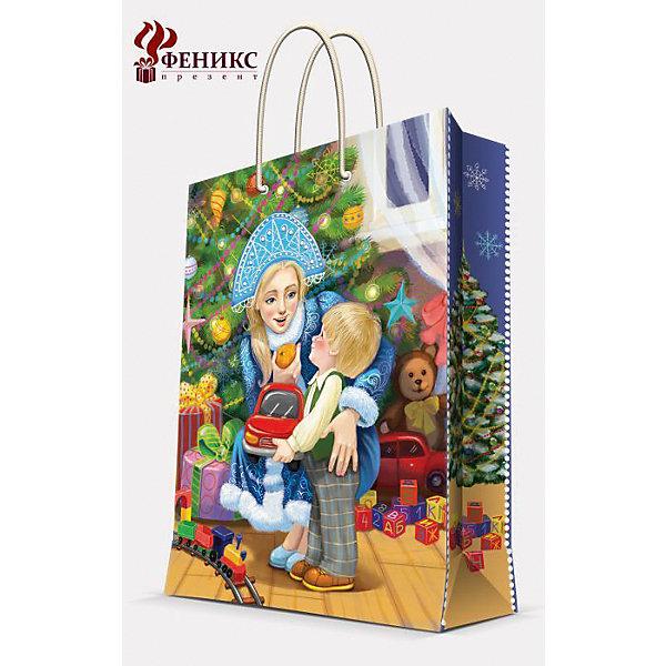 Подарочный пакет Снегурочка 17,8*22,9*9,8 смНовогодние пакеты<br>Подарочный пакет Снегурочка 17,8*22,9*9,8 см - этот яркий аксессуар станет достойным украшением новогоднего подарка.<br>Подарочный пакет Снегурочка XS поможет красиво оформить новогодний подарок для родных и друзей. Яркий пакет с изображением милой Снегурочки и очаровательного малыша сделает Ваш подарок эффектным и запоминающимся. Пакет с ламинацией выполнен из плотной бумаги, имеет широкое основание. Для удобной переноски предусмотрены две ручки из шнурков.<br><br>Дополнительная информация:<br><br>- Размер: 17,8 х 22,9 х 9,8 см.<br>- Шириной основания: 17,8 см.<br>- Ламинированный<br>- Ручки: шнурки<br>- Материал: бумага<br>- Плотность: 140 г/м2<br><br>Подарочный пакет Снегурочка 17,8*22,9*9,8 см можно купить в нашем интернет-магазине.<br>Ширина мм: 1; Глубина мм: 180; Высота мм: 230; Вес г: 42; Возраст от месяцев: 36; Возраст до месяцев: 2147483647; Пол: Унисекс; Возраст: Детский; SKU: 4274756;